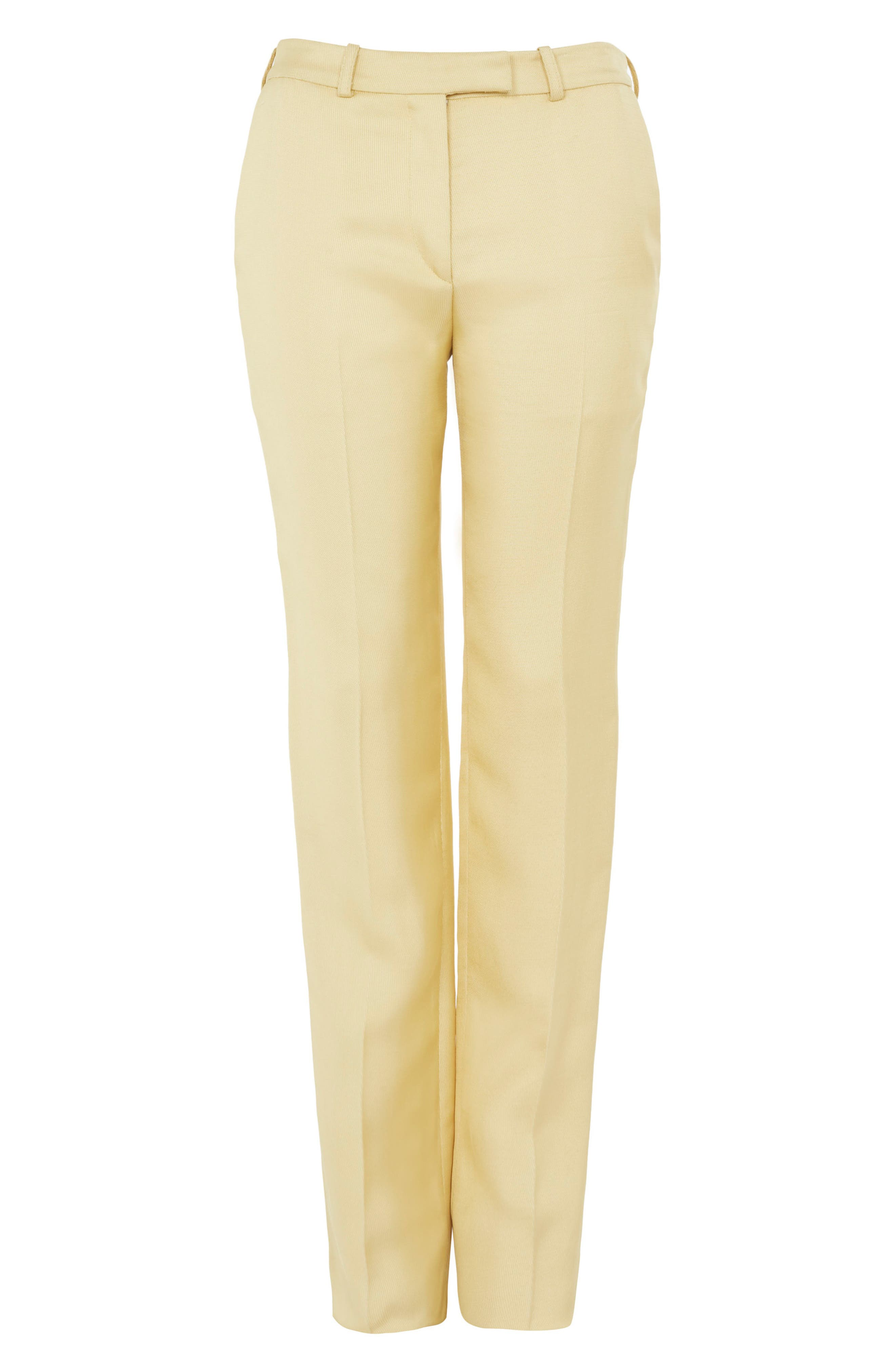 Topshop Textured Trousers