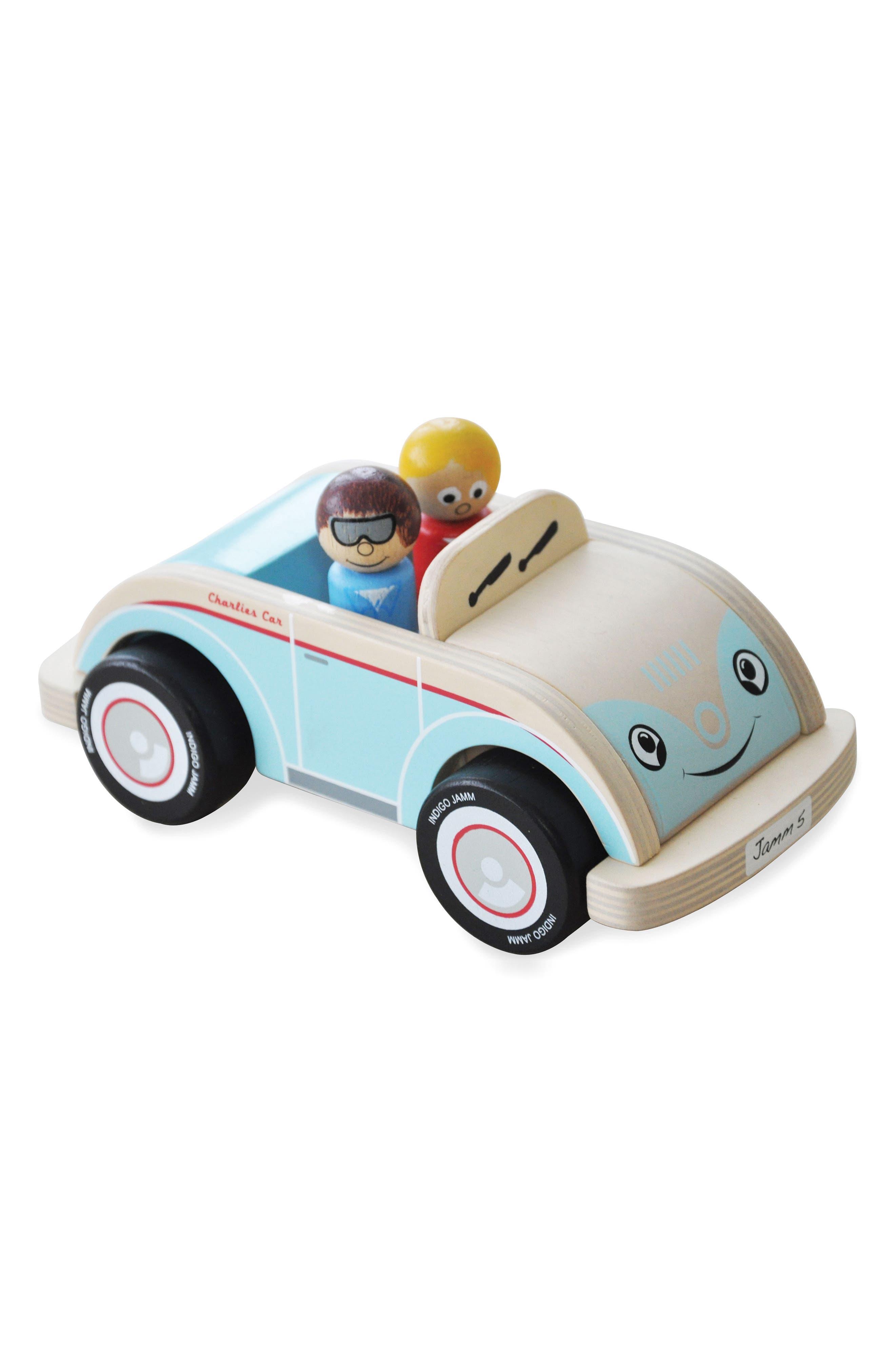 Charlies Car,                         Main,                         color, Blue