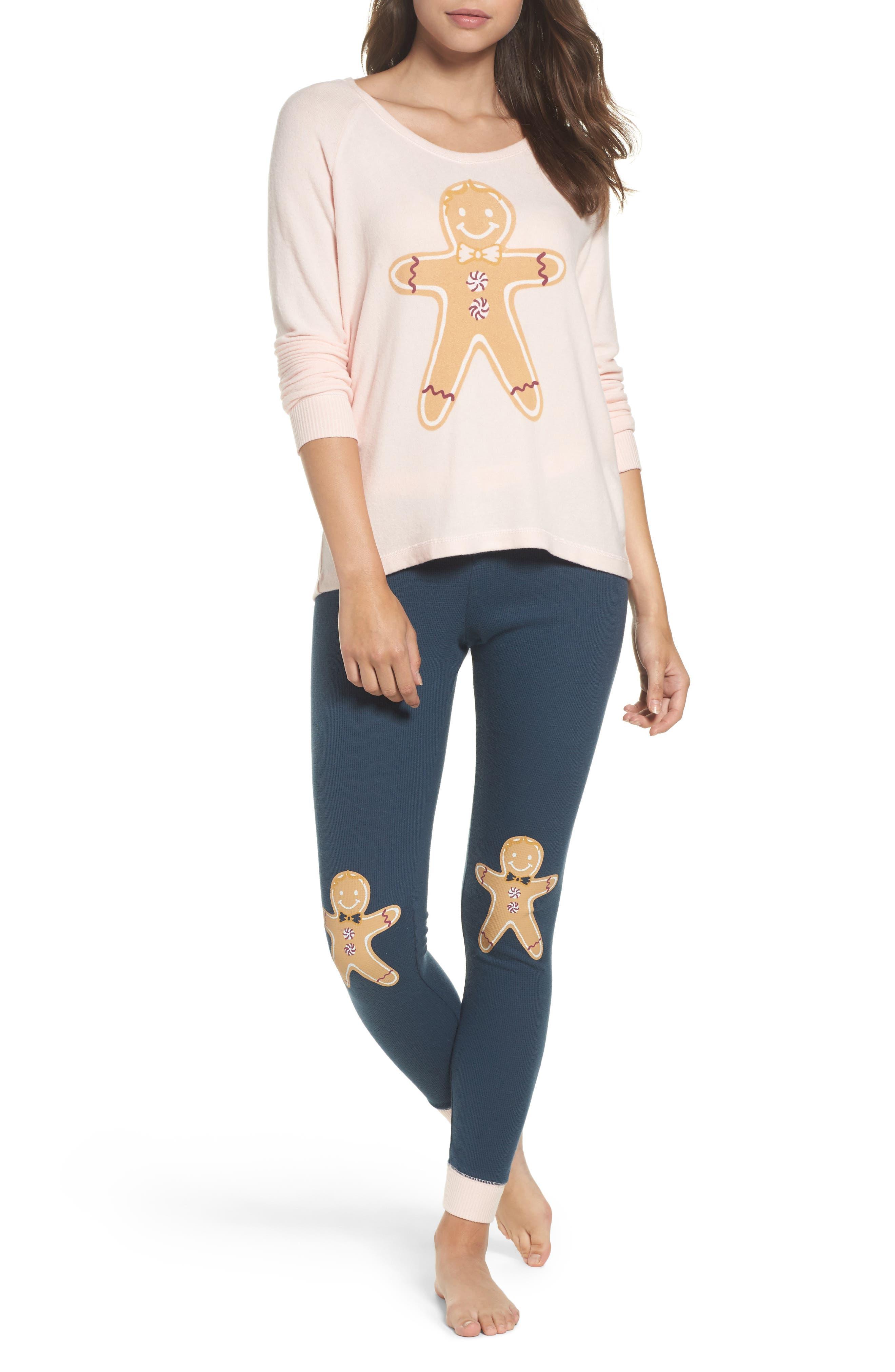 Make + Model Snow Day Graphic Pajamas