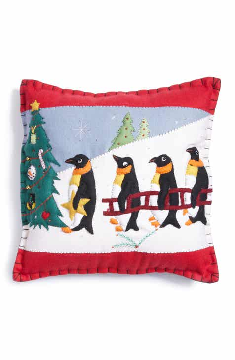 new world arts penguin pillow