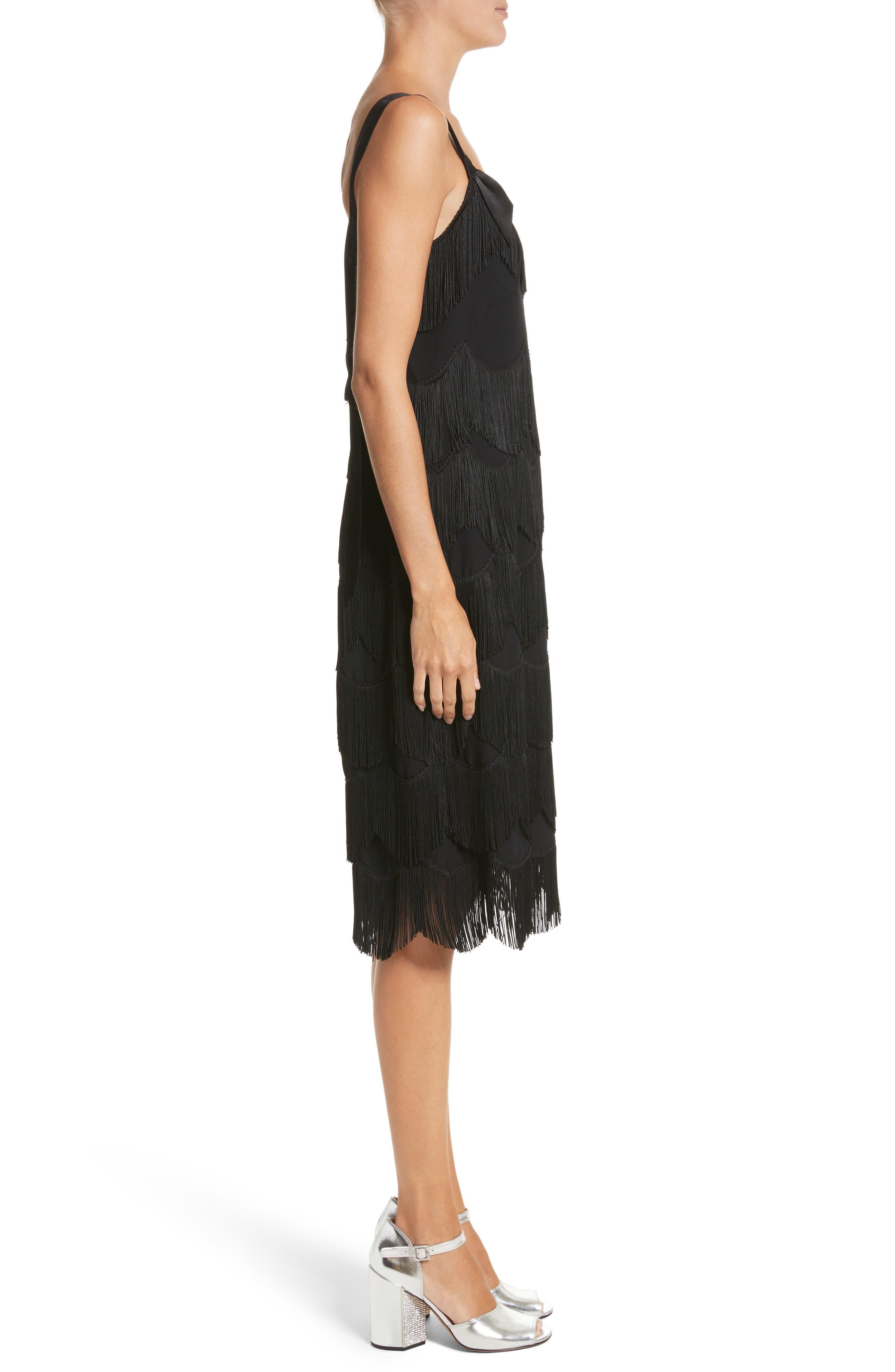 Alternate Image 3  - MARC JACOBS Scalloped Fringe Party Dress