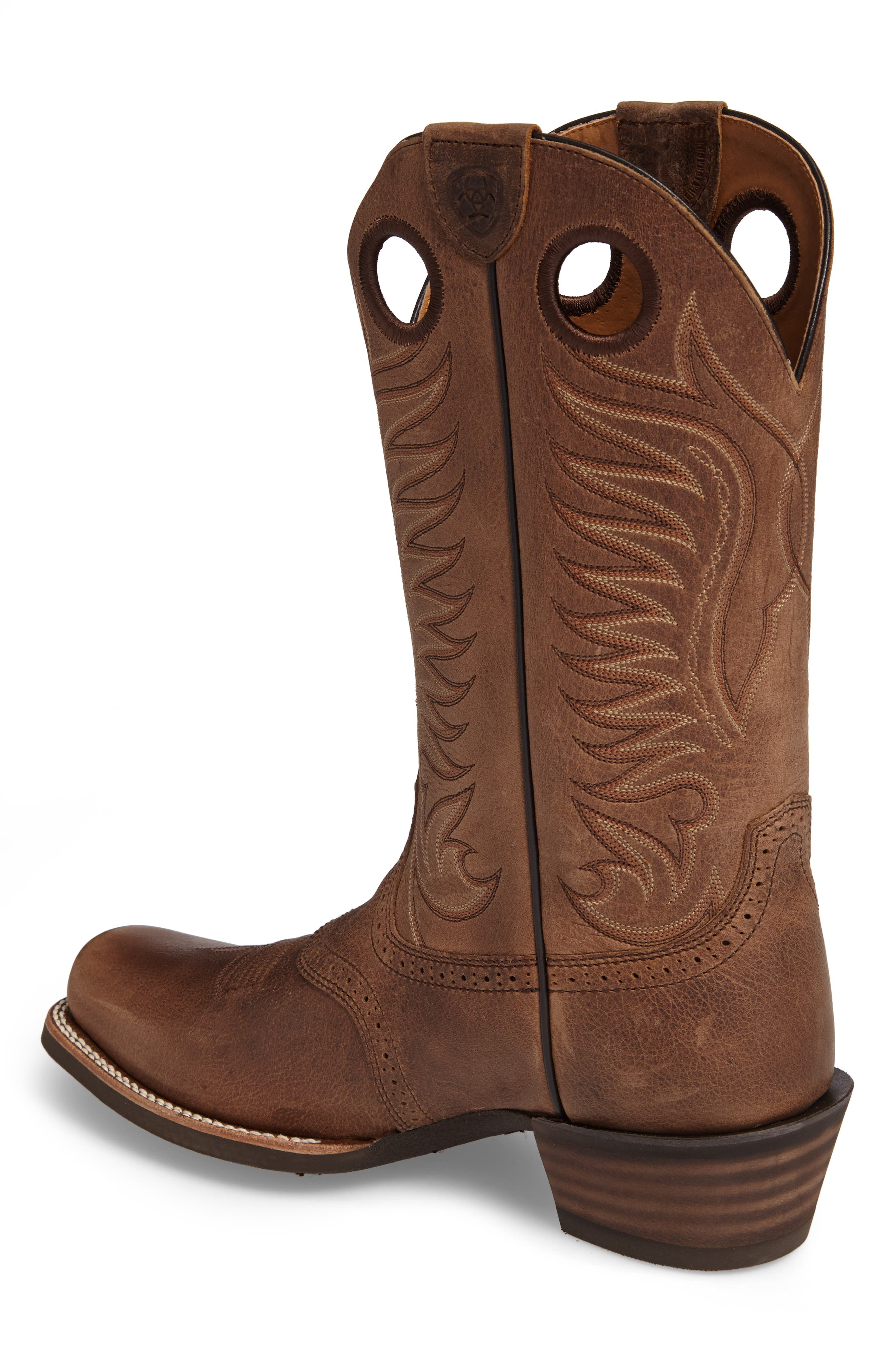 Heritage Hot Shot Cowboy Boot,                             Alternate thumbnail 2, color,                             Brown