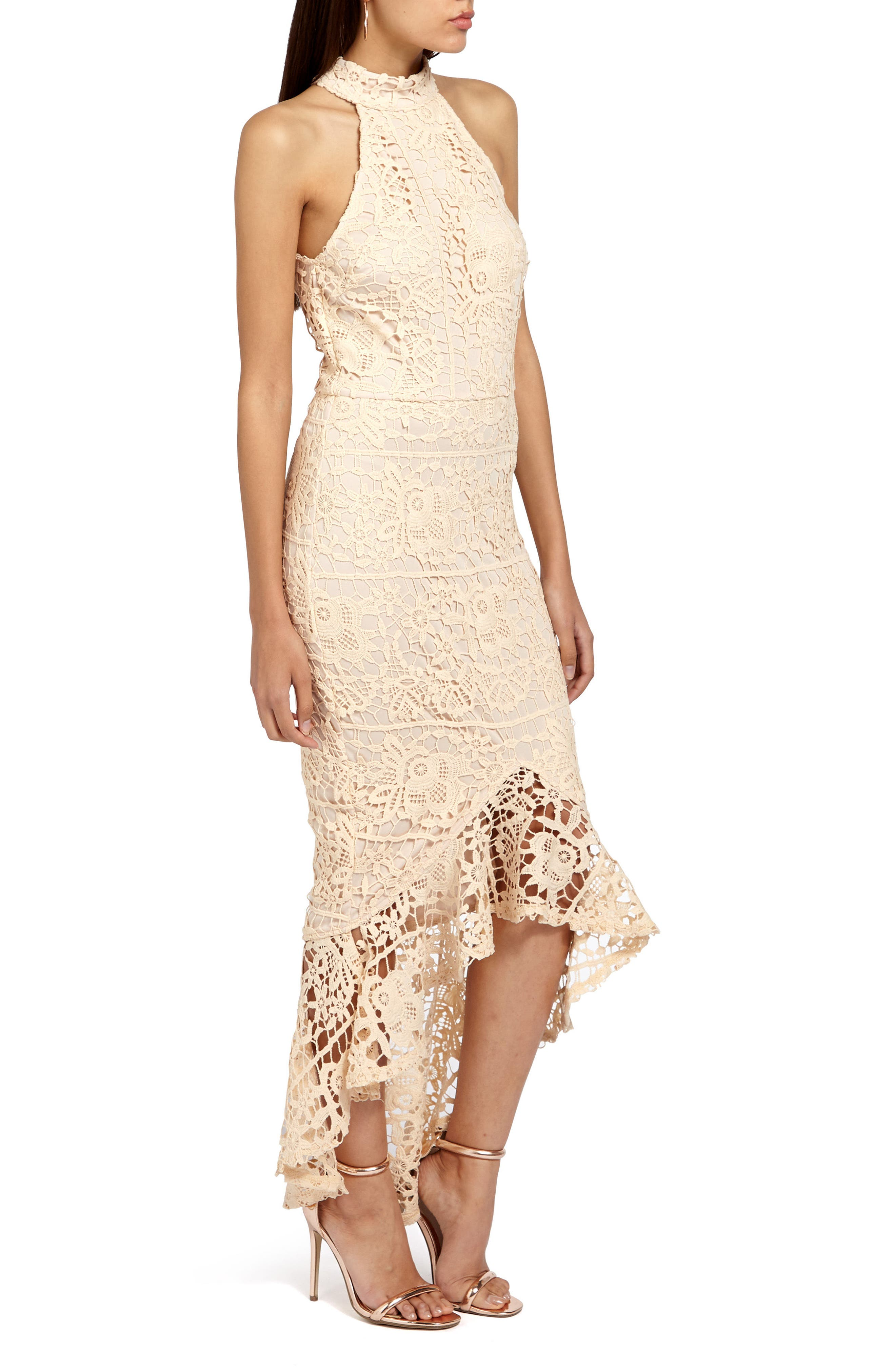 Alternate Image 3  - Missguided Lace Body-Con Dress