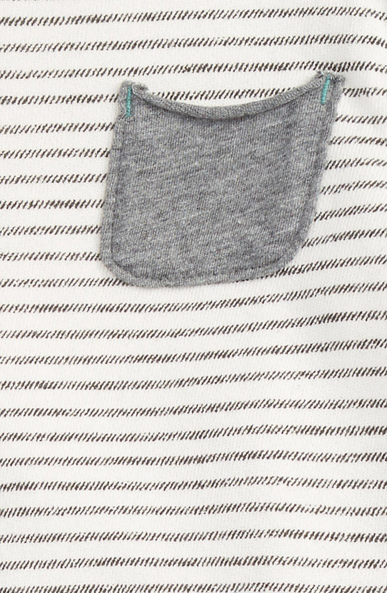 Alternate Image 2  - Splendid Stripe T-Shirt & Pants (Baby Boys)