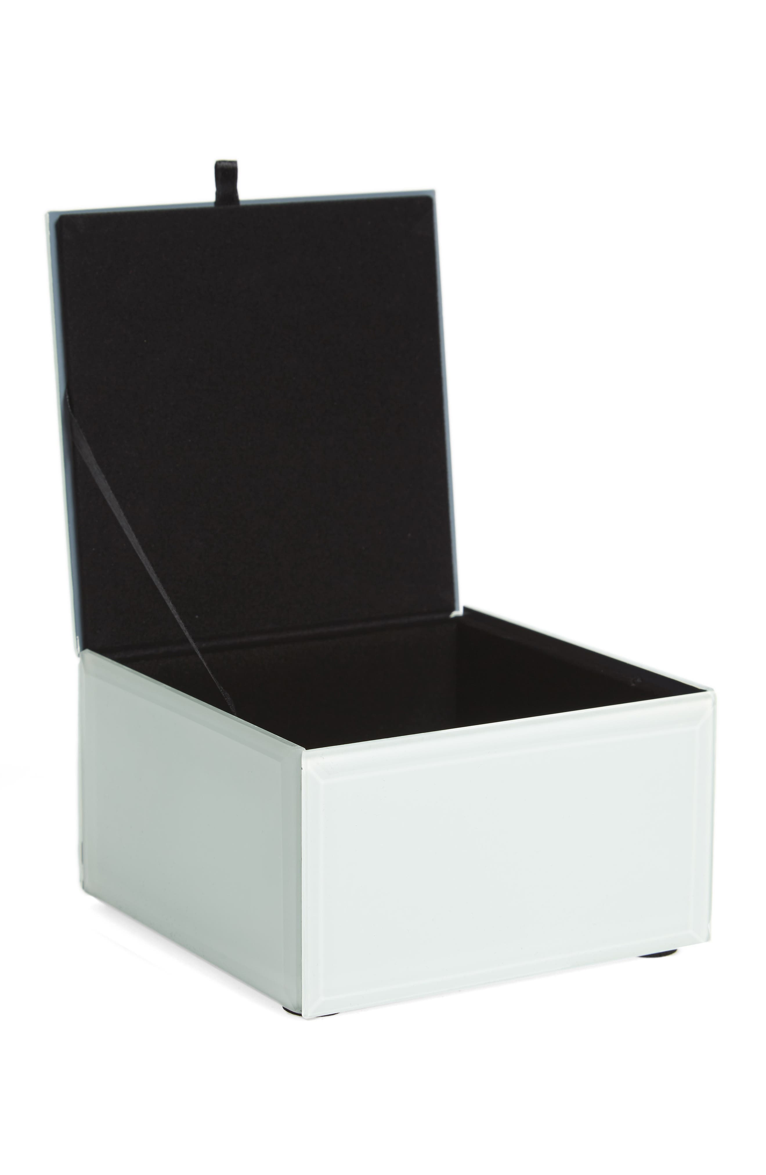 White Agate Jewelry Box,                             Alternate thumbnail 2, color,                             White