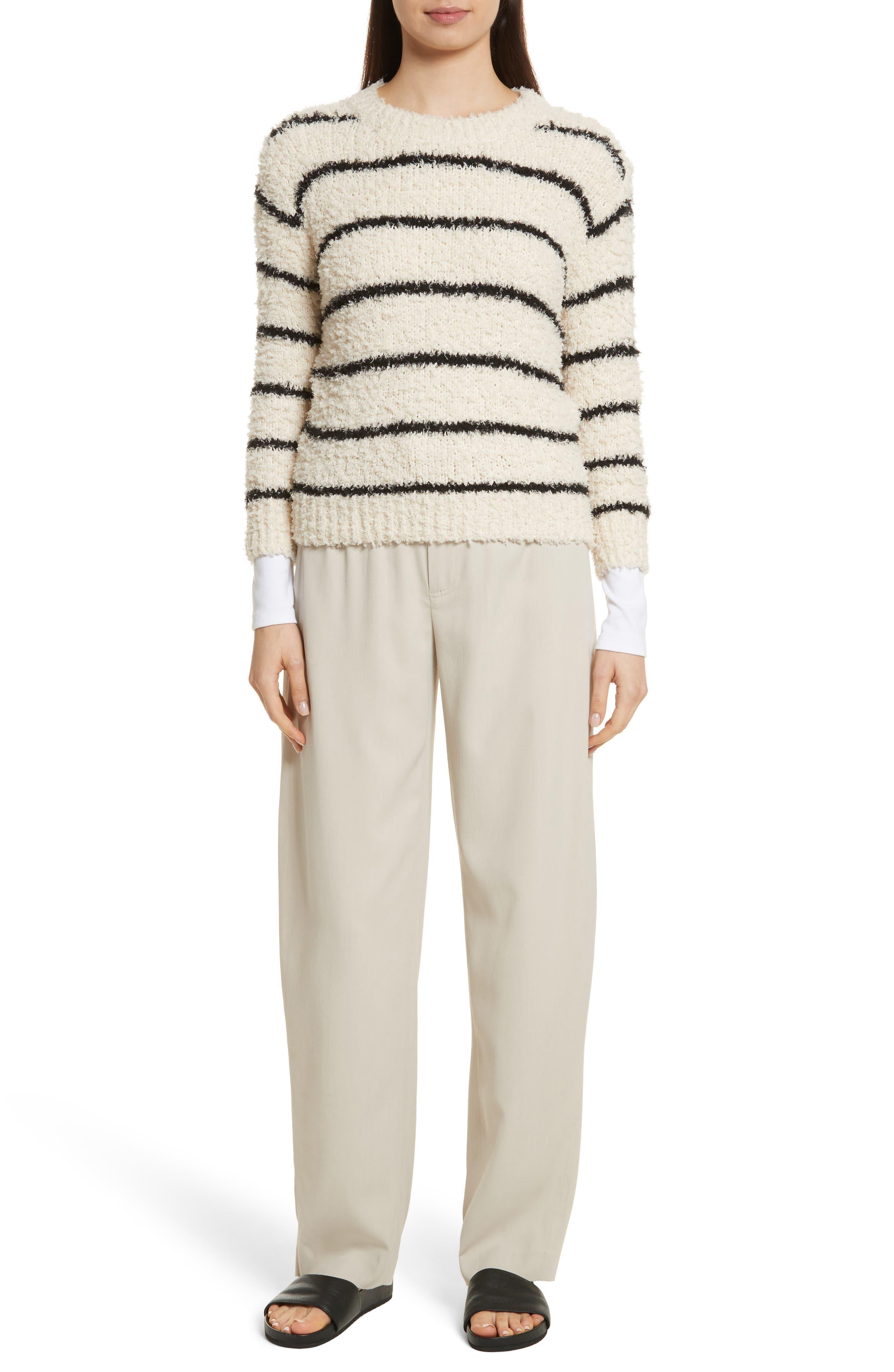 Stretch Cotton Bodysuit,                             Alternate thumbnail 7, color,                             Optic White