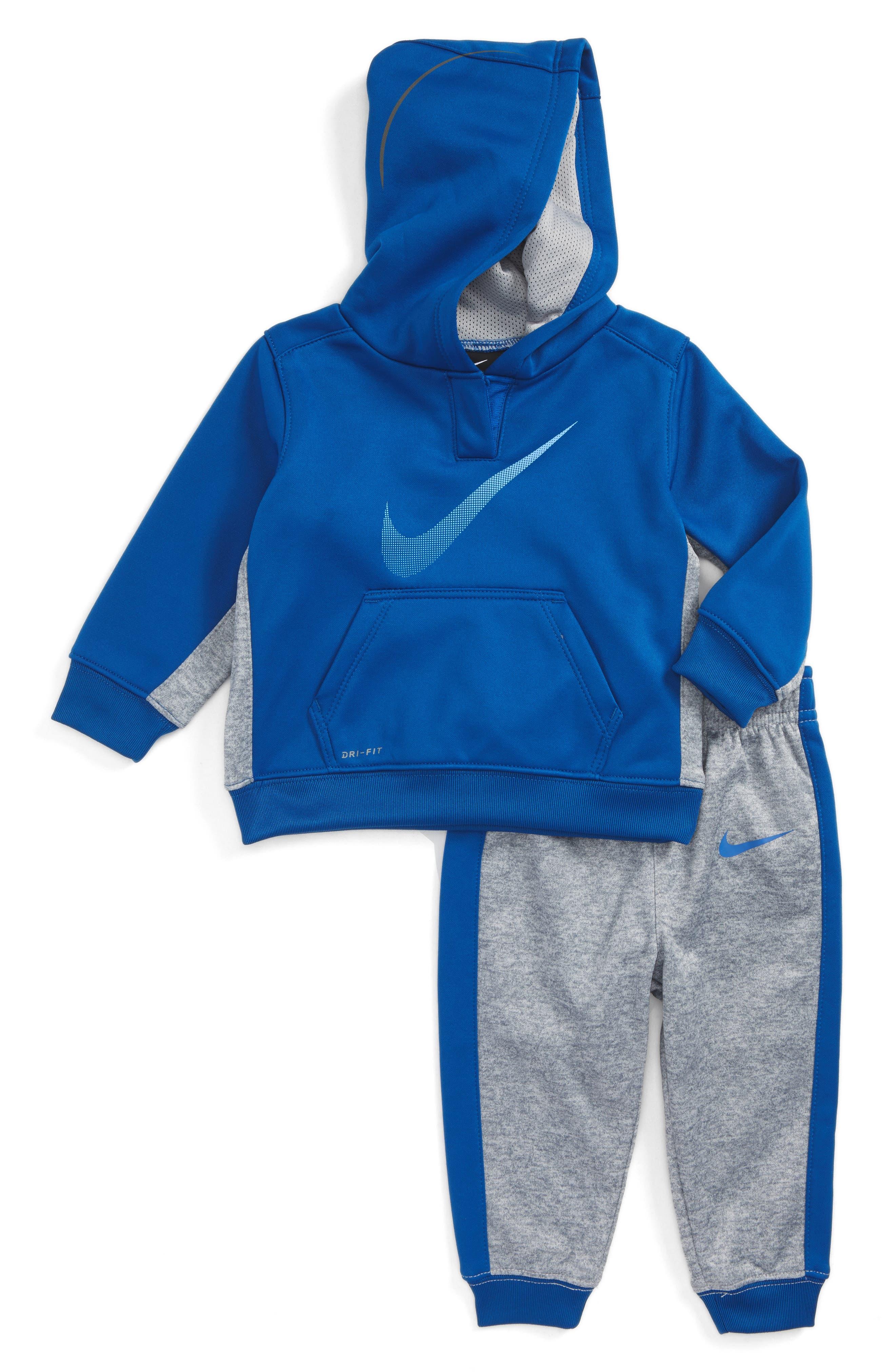 Nike KO Therma-FIT Fleece Hoodie & Pants Set (Baby Boys)