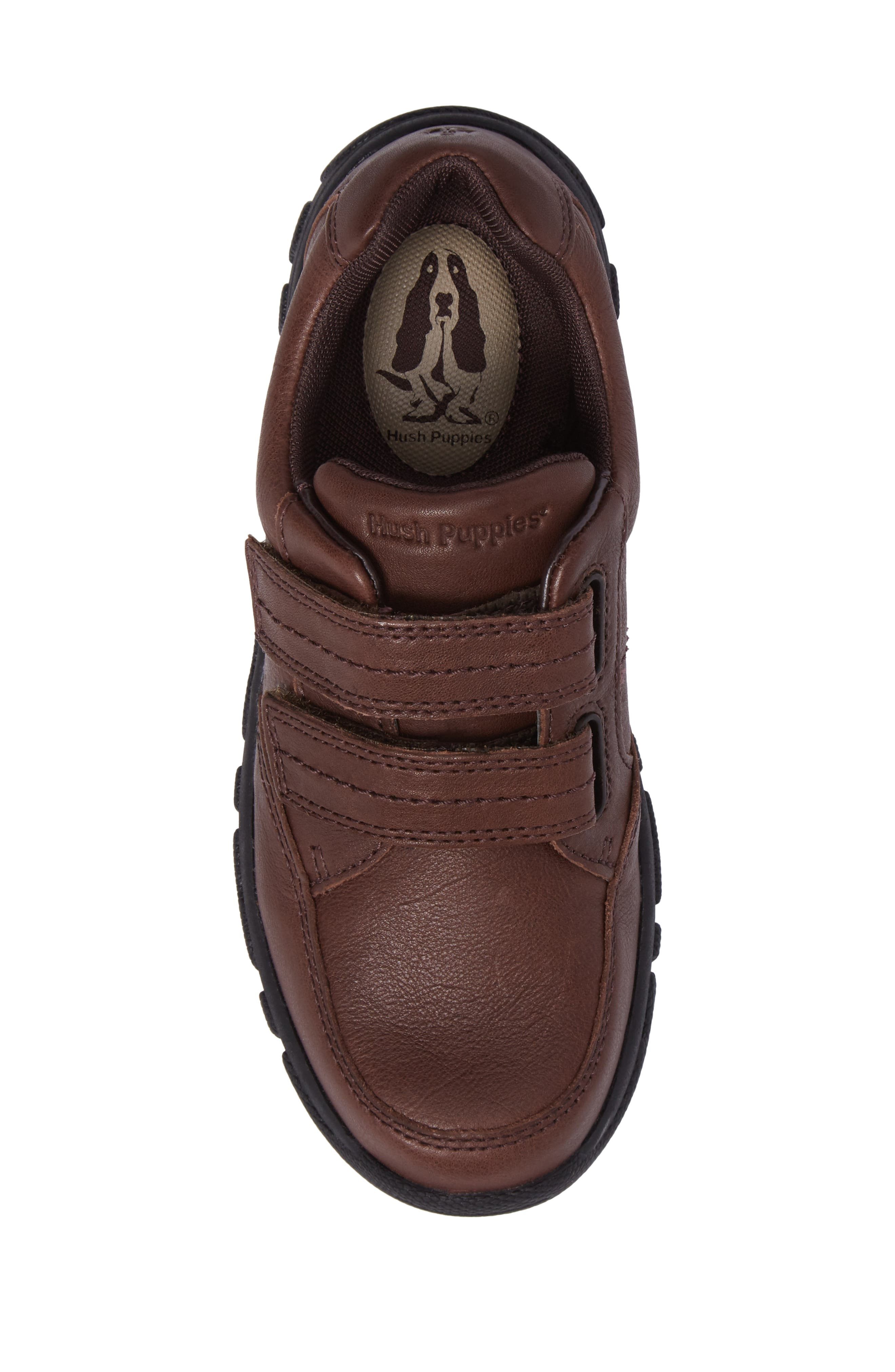Jace Dress Sneaker,                             Alternate thumbnail 5, color,                             Brown Leather