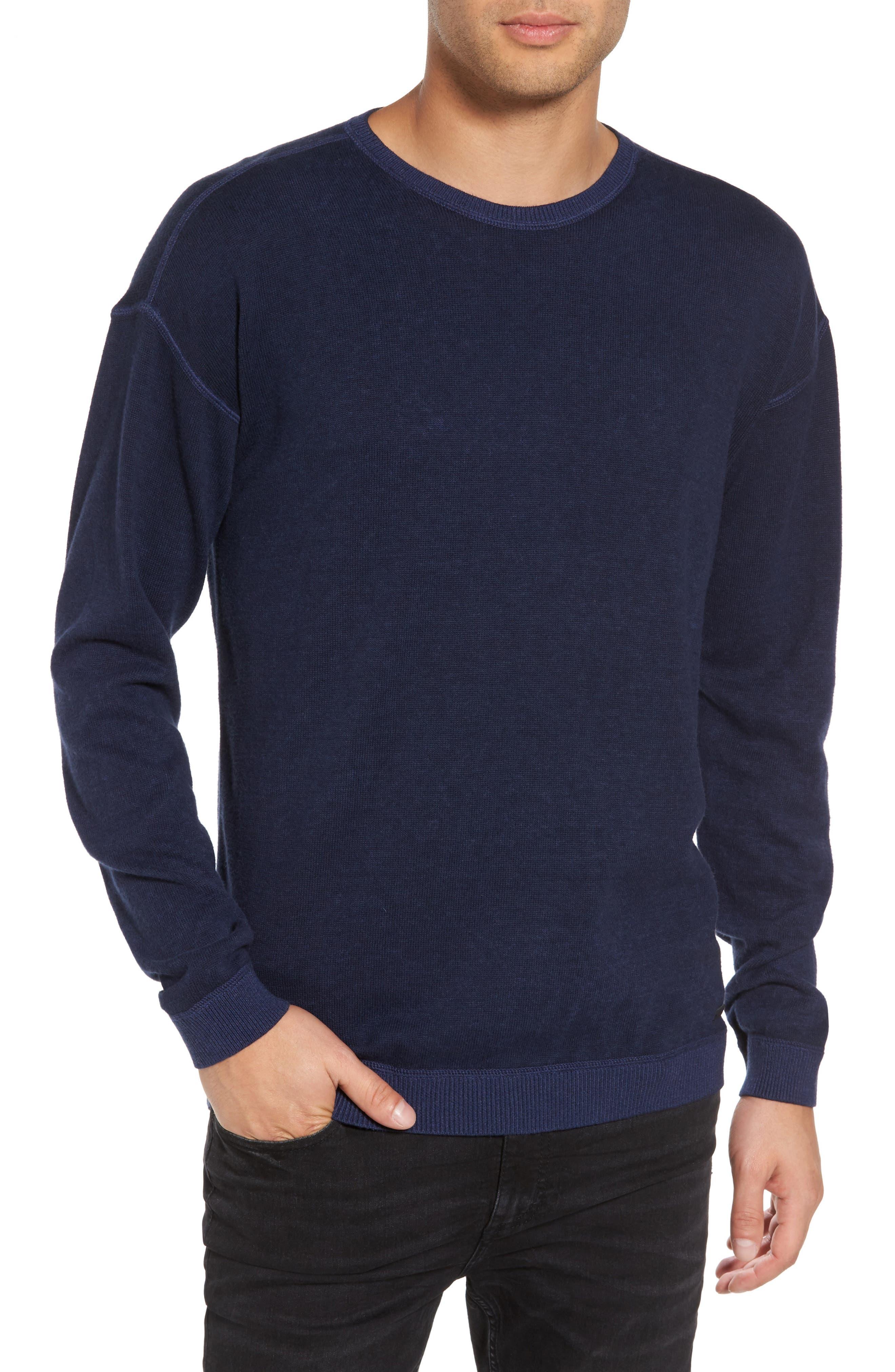 John Varvatos Star USA Drop Shoulder Sweater