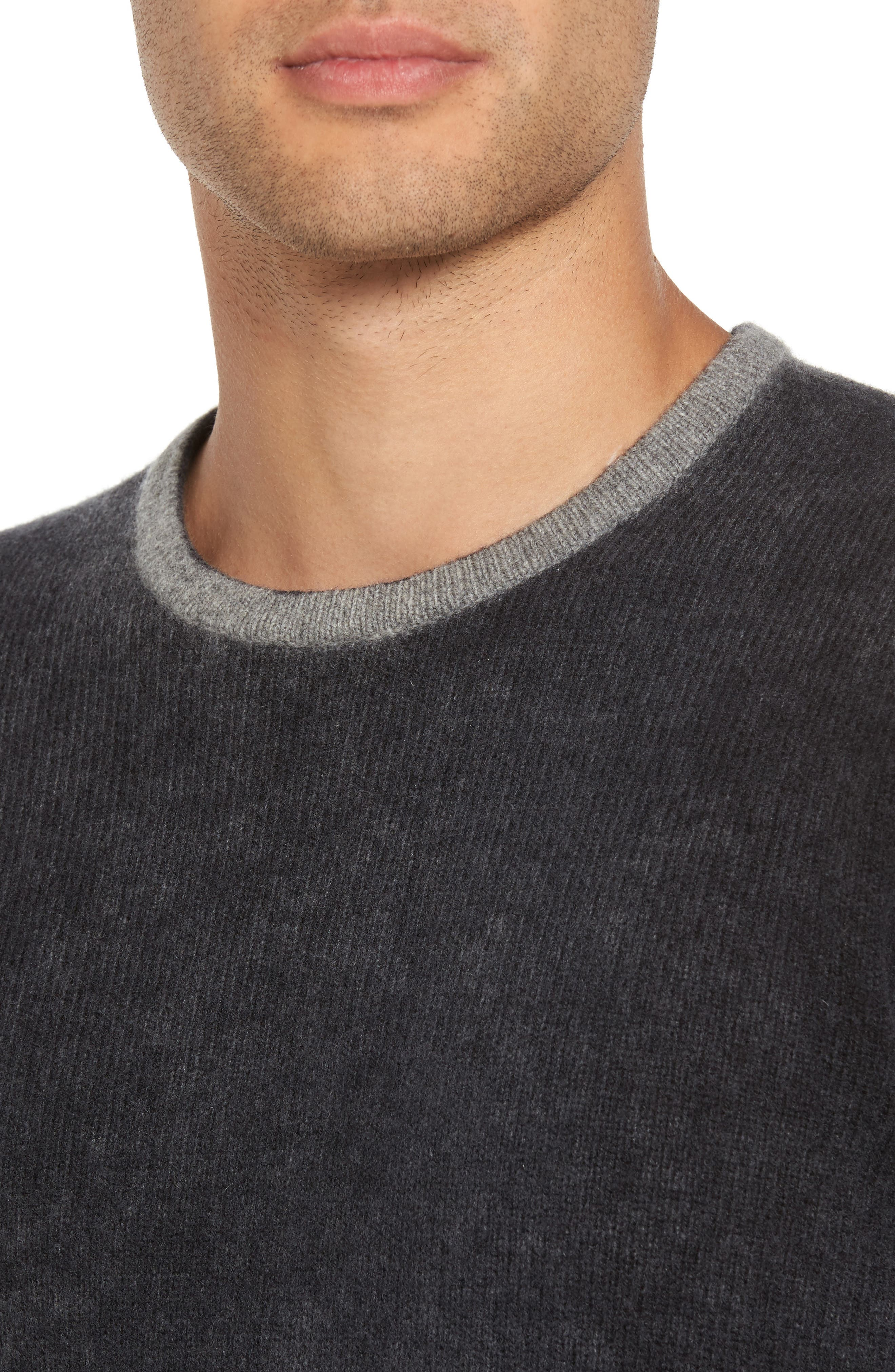Alternate Image 4  - John Varvatos Star USA Drop Shoulder Sweater