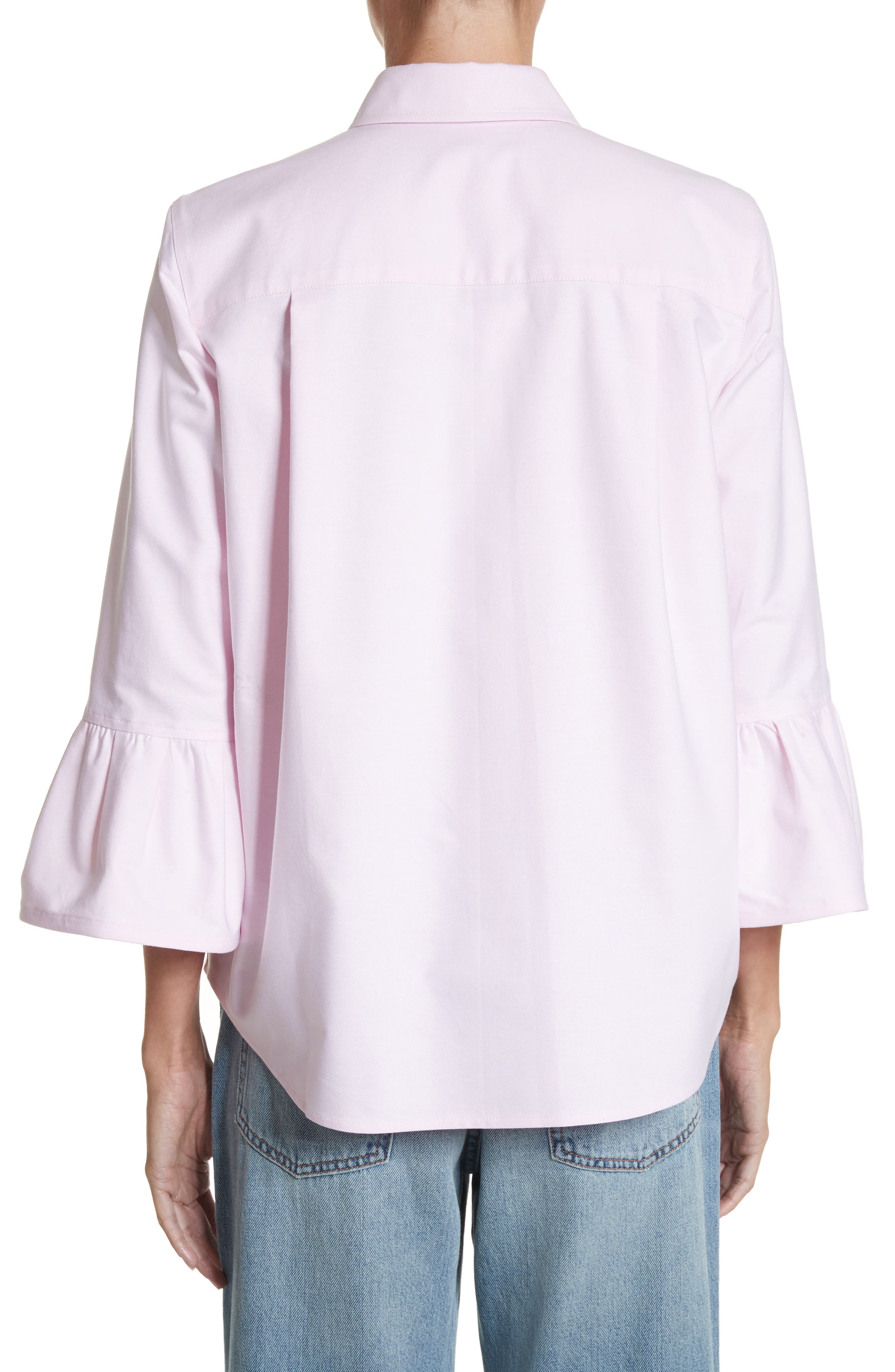 Alternate Image 2  - MARC JACOBS Bell Sleeve Cotton Top
