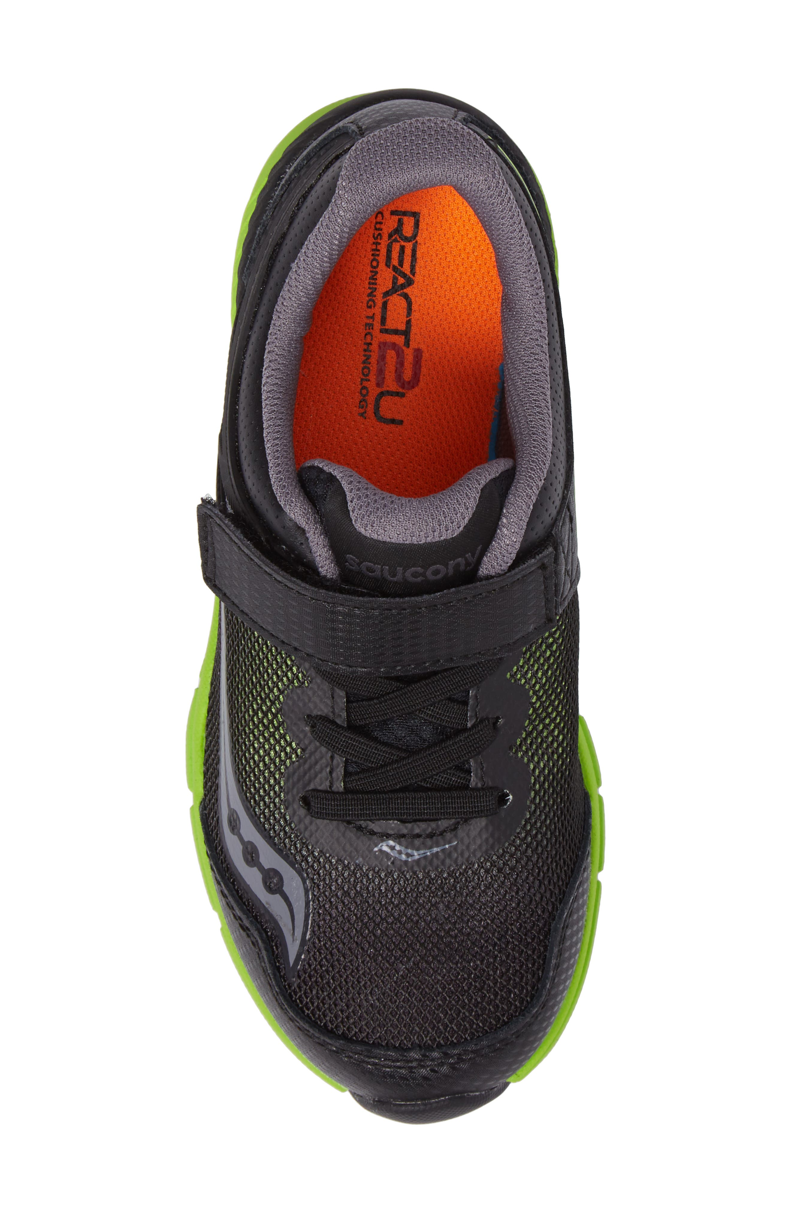Velocity A/C Sneaker,                             Alternate thumbnail 5, color,                             Black/ Green