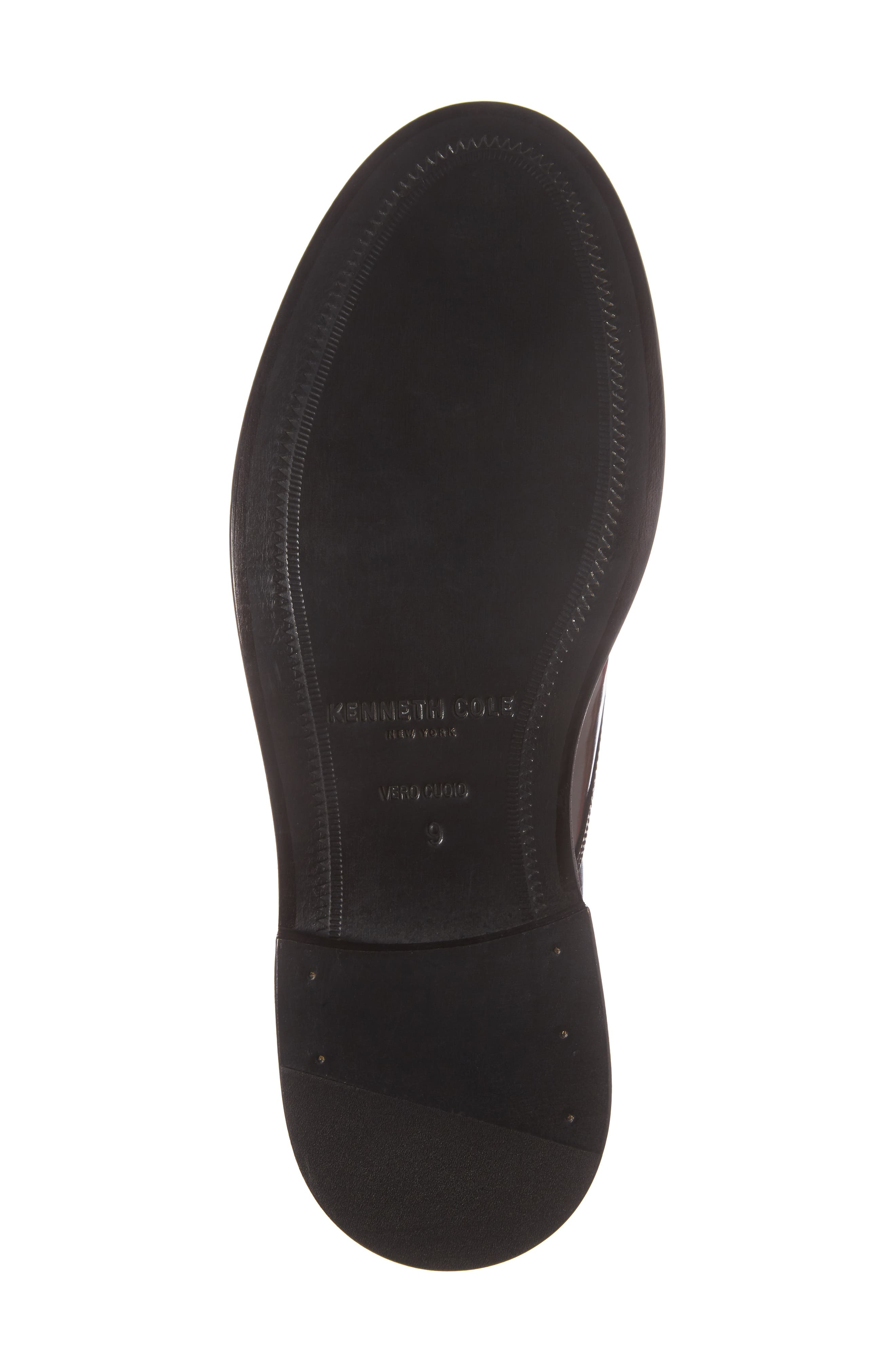 Plain Toe Derby,                             Alternate thumbnail 6, color,                             Bordeaux Leather