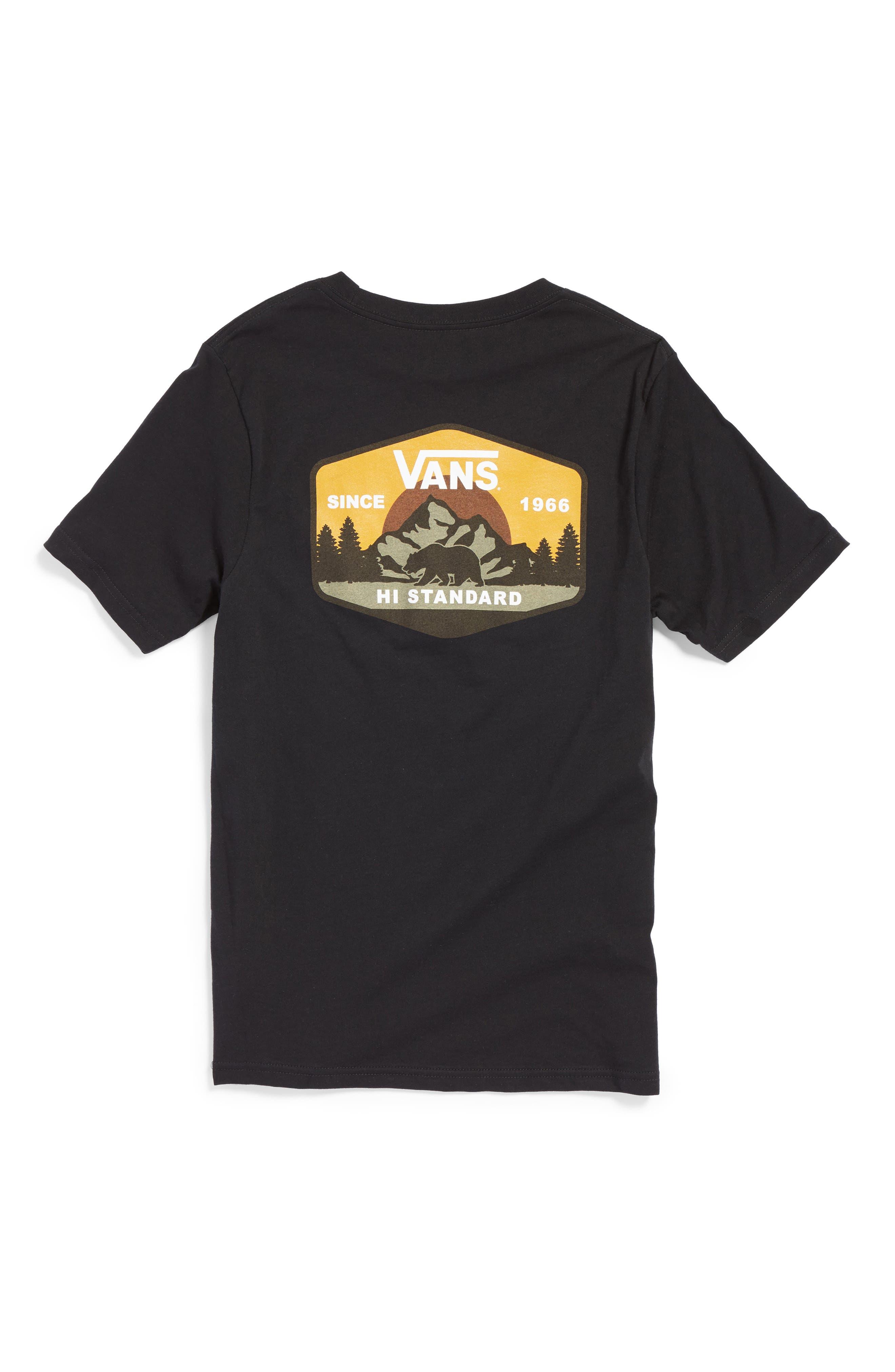 Alternate Image 2  - Vans Mountain Hi-Standard T-Shirt (Big Boys)