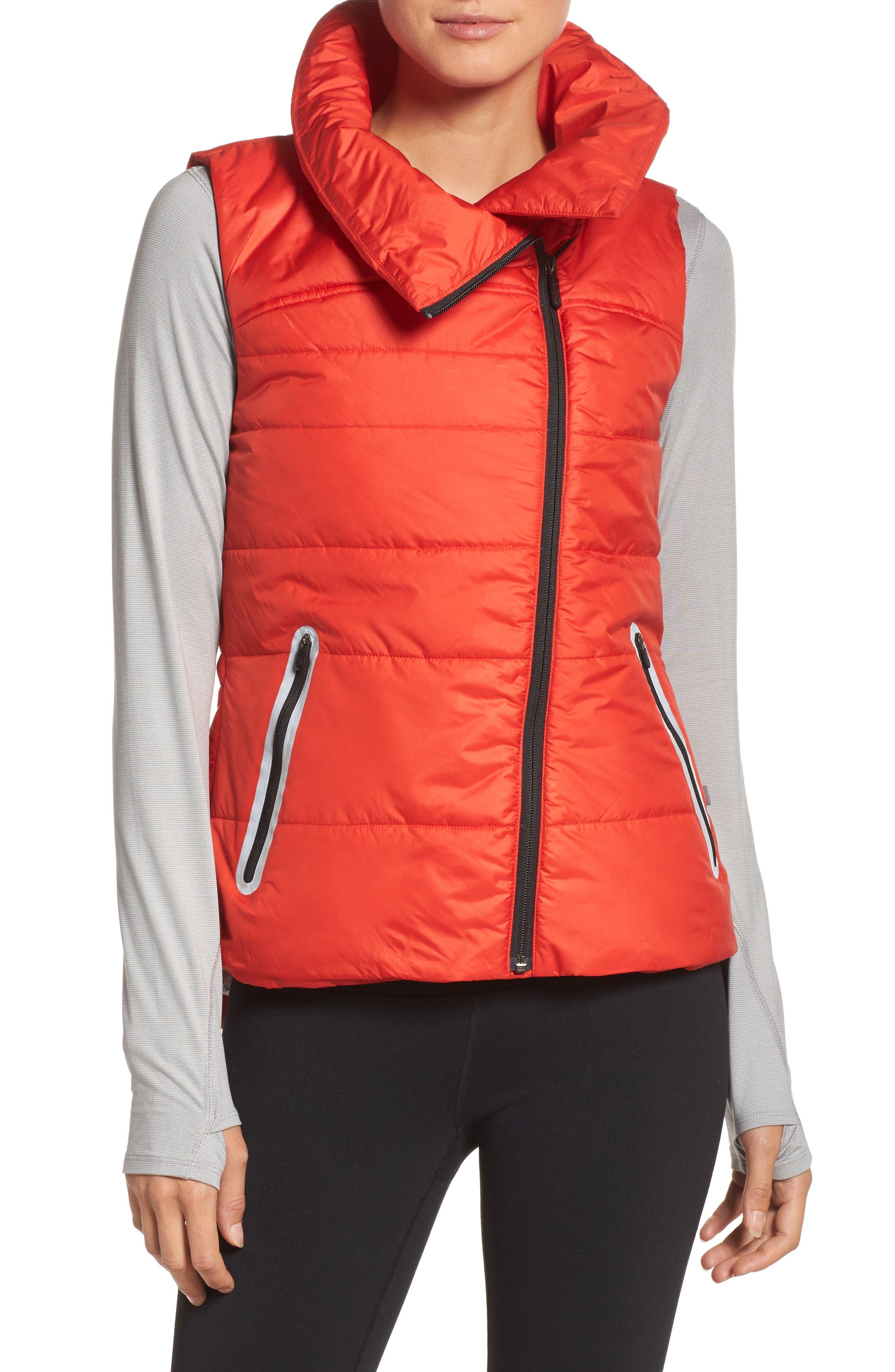 Dynamic PrimaLoft<sup>®</sup> Vest,                         Main,                         color, Red Fiery