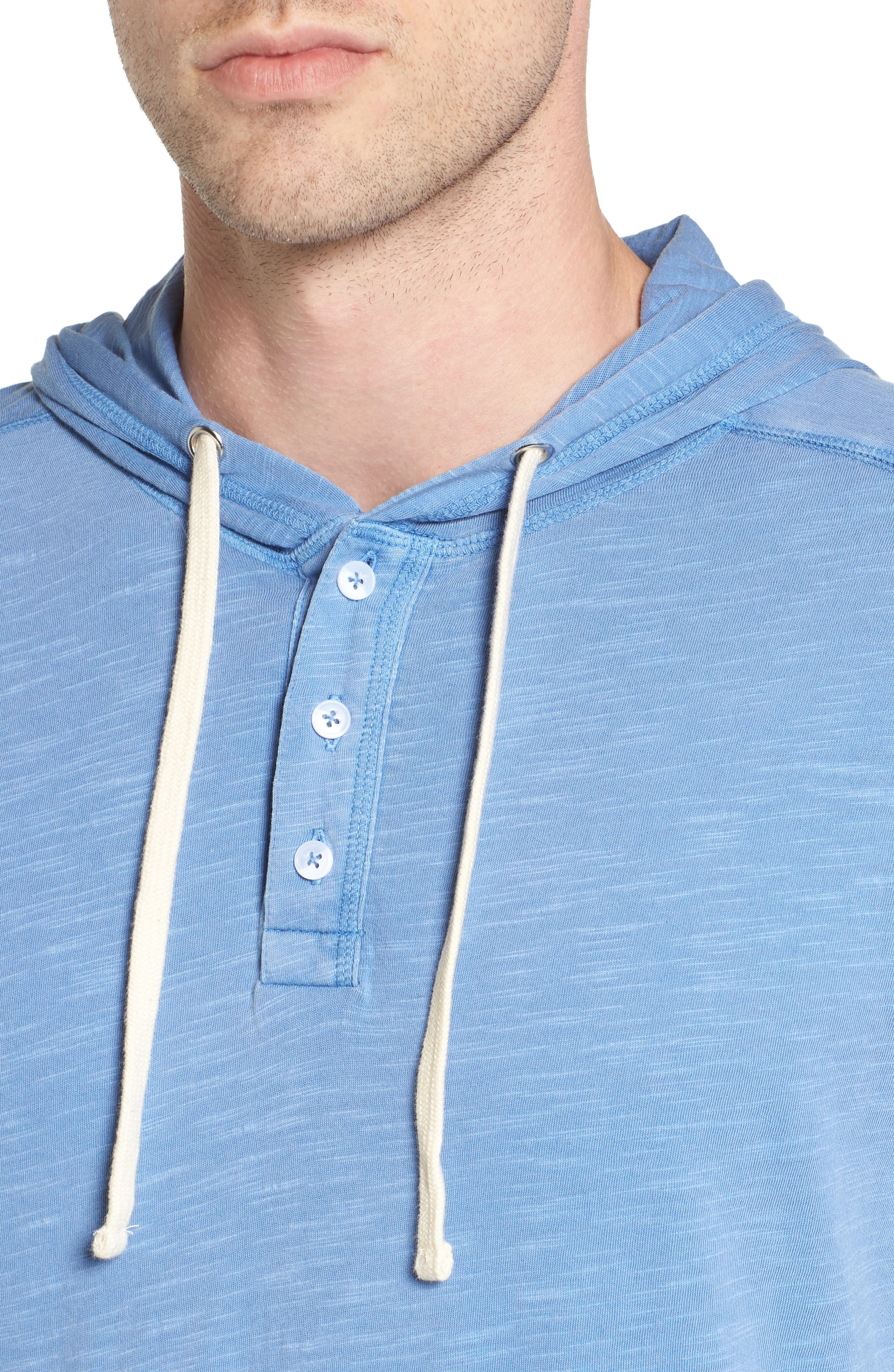 Alternate Image 4  - The Rail Henley Hoodie (2 for $50)