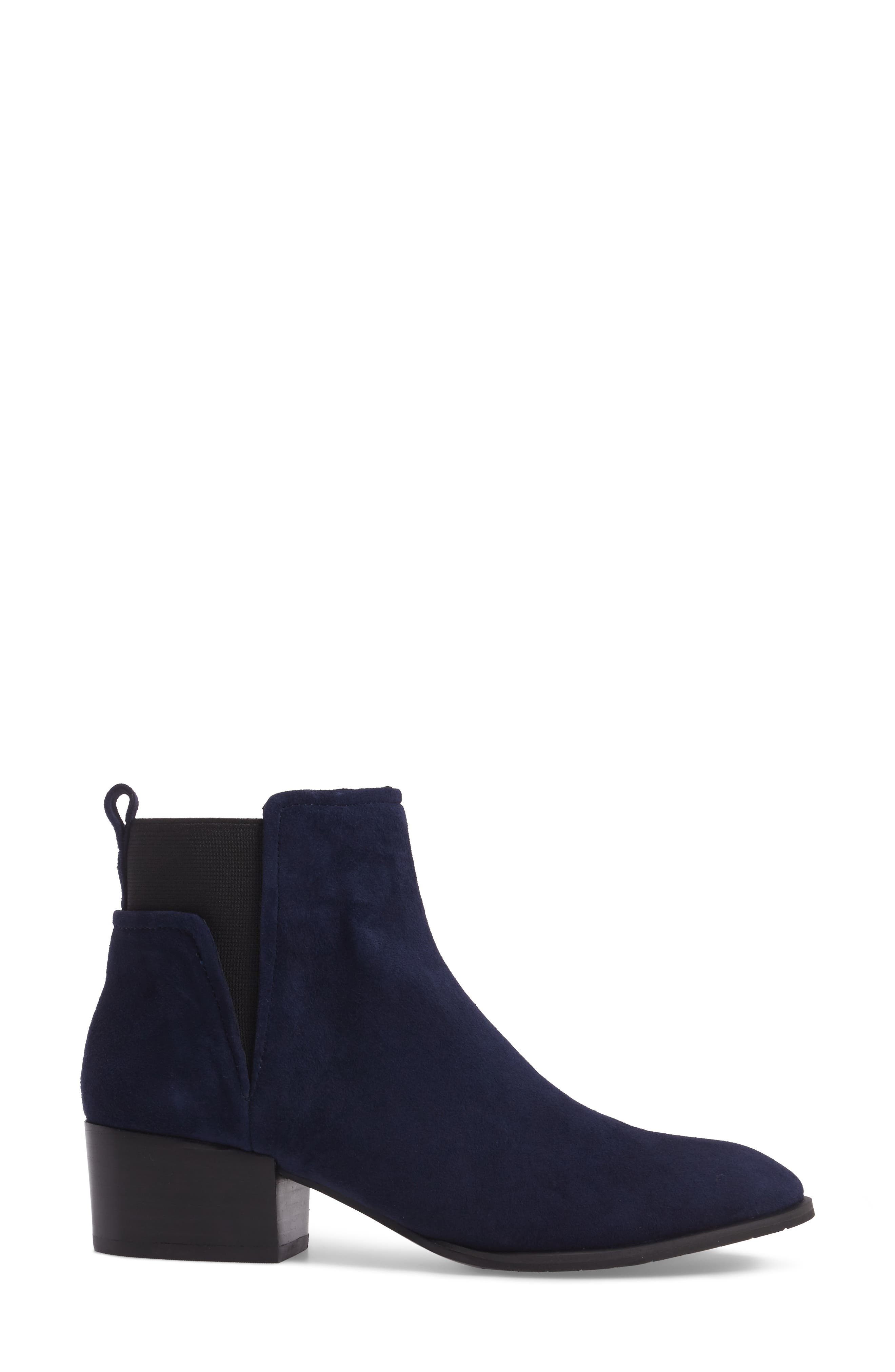 Artie Bootie,                             Alternate thumbnail 3, color,                             Navy Suede
