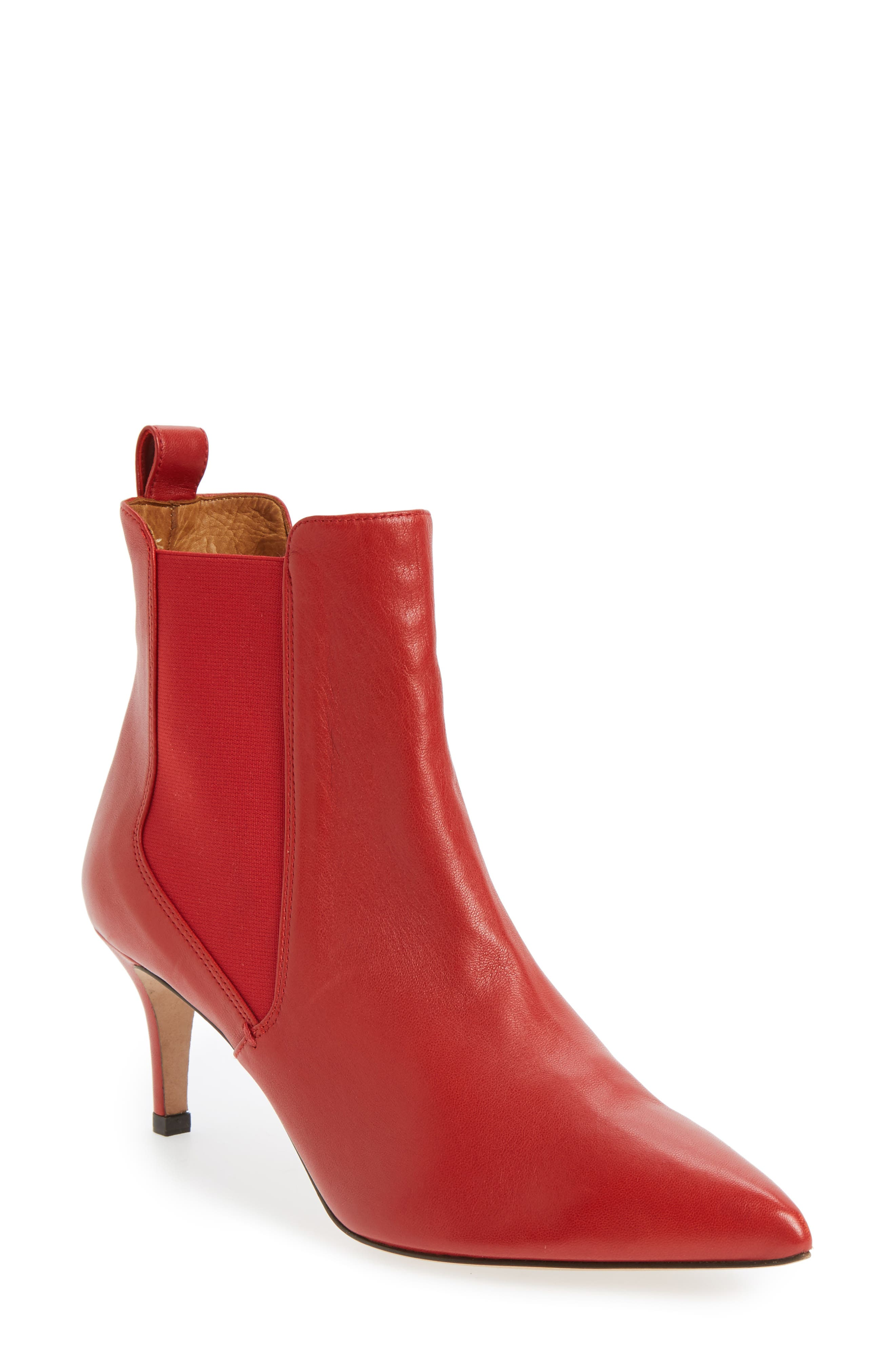 Alternate Image 1 Selected - Veronica Beard Parker Pointy Toe Chelsea Bootie (Women)