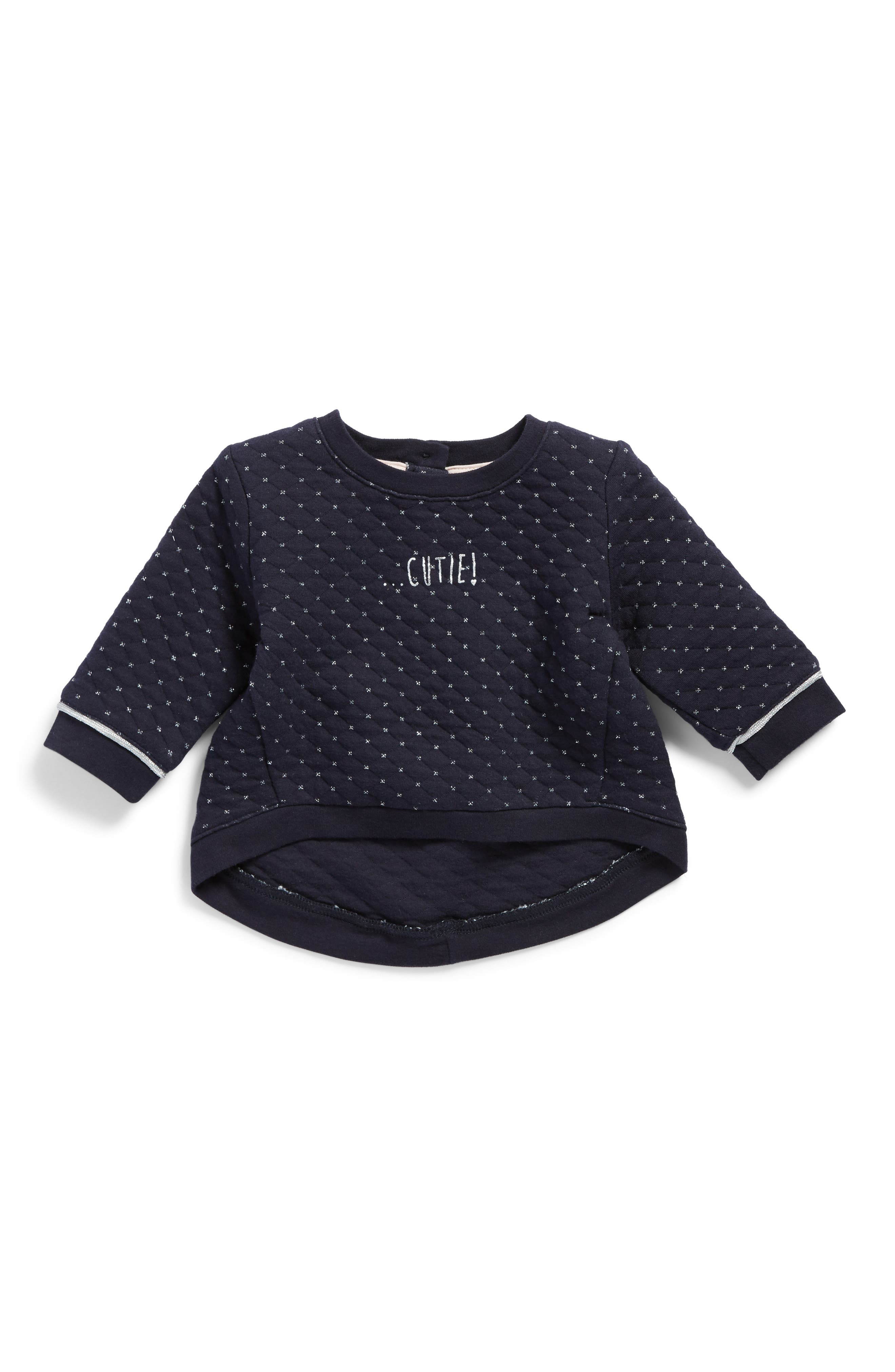 Main Image - Robeez® Quilted Top (Baby Girls)