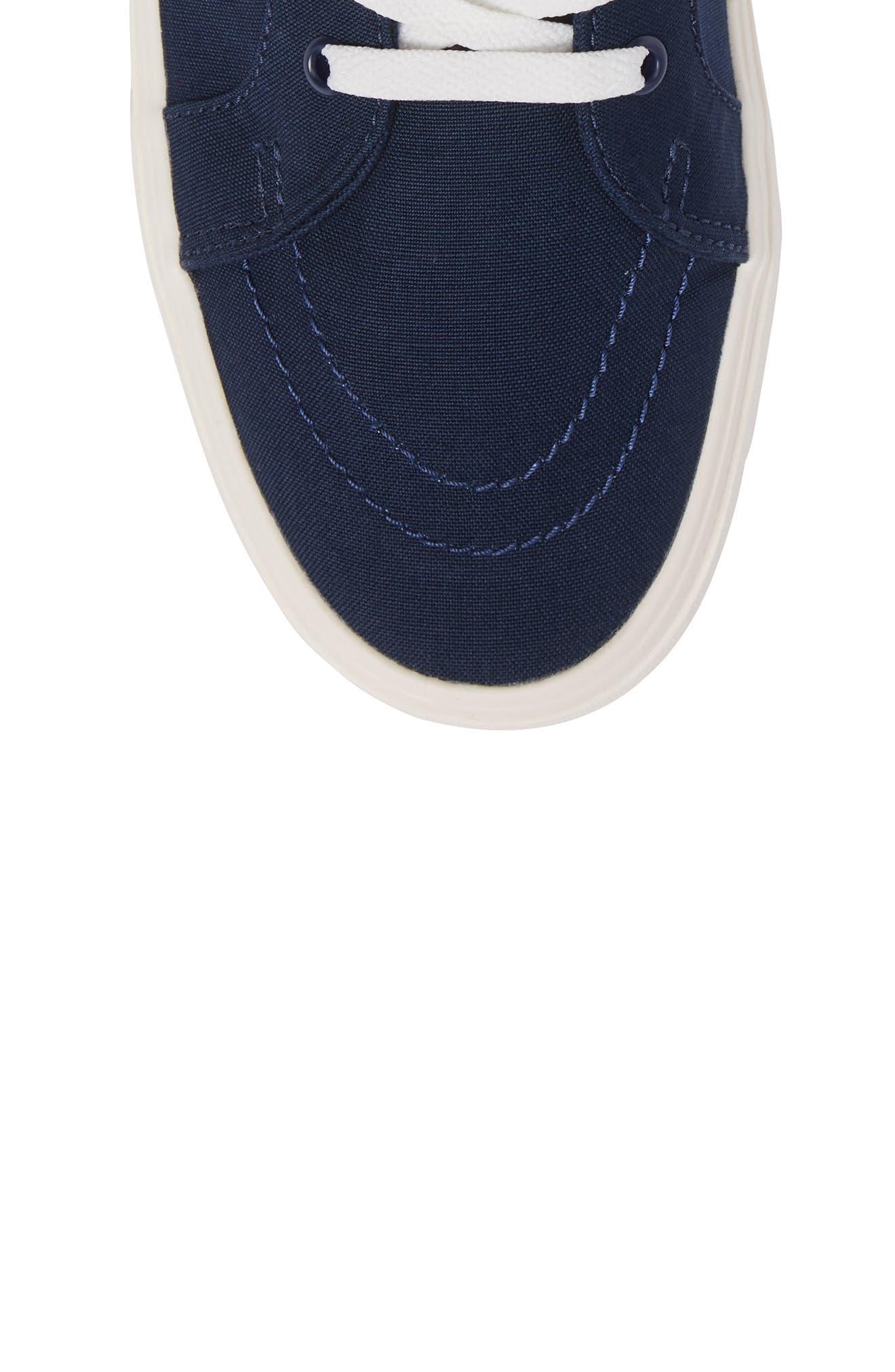 Sk80-Hi Reissue Lite Sneaker,                             Alternate thumbnail 5, color,                             Dress Blues/Marshmallow Canvas