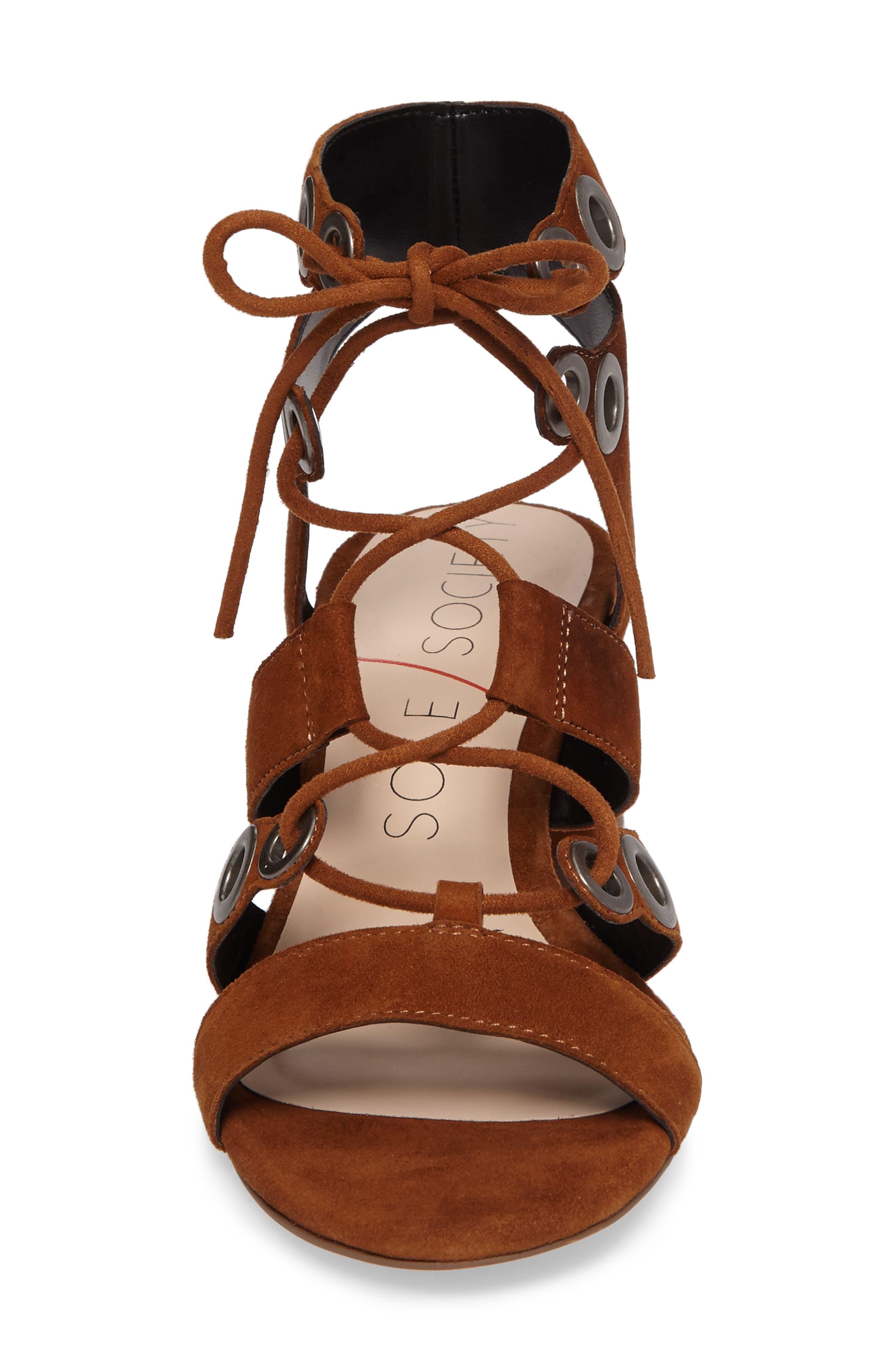 Alternate Image 4  - Sole Society Rosemary Lace-Up Sandal (Women)