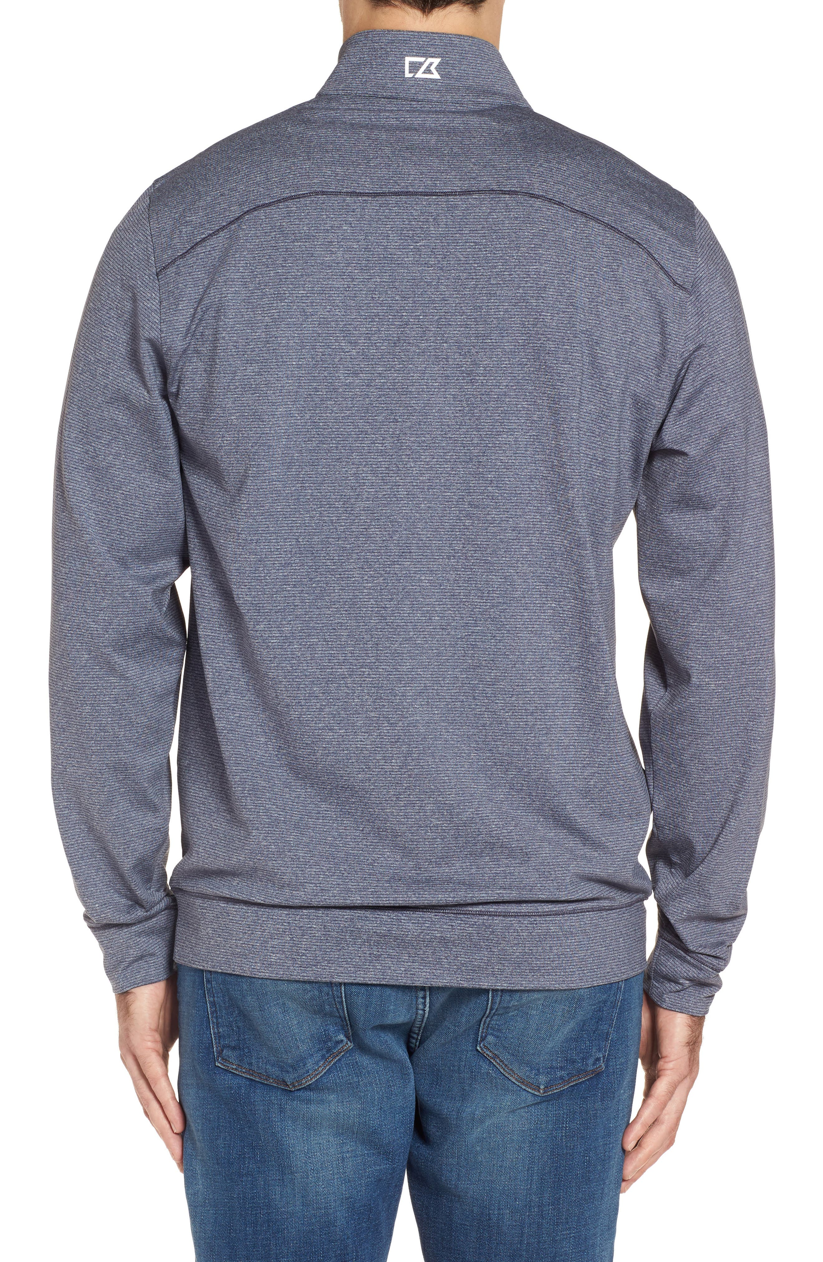 Shoreline - Los Angeles Chargers Half Zip Pullover,                             Alternate thumbnail 2, color,                             Liberty Navy Heather