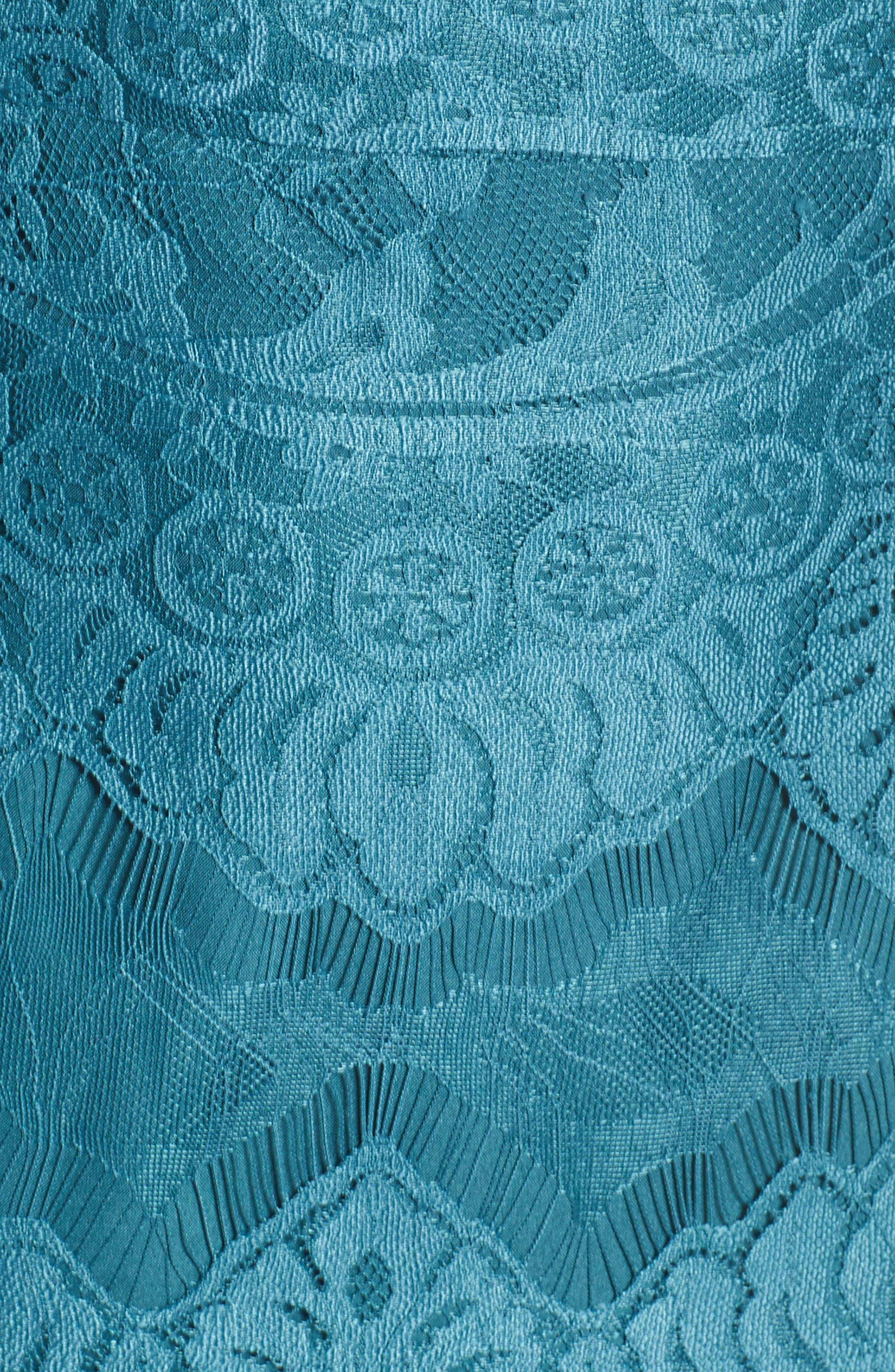 Alternate Image 5  - BB Dakota Jayce Lace Sheath Dress