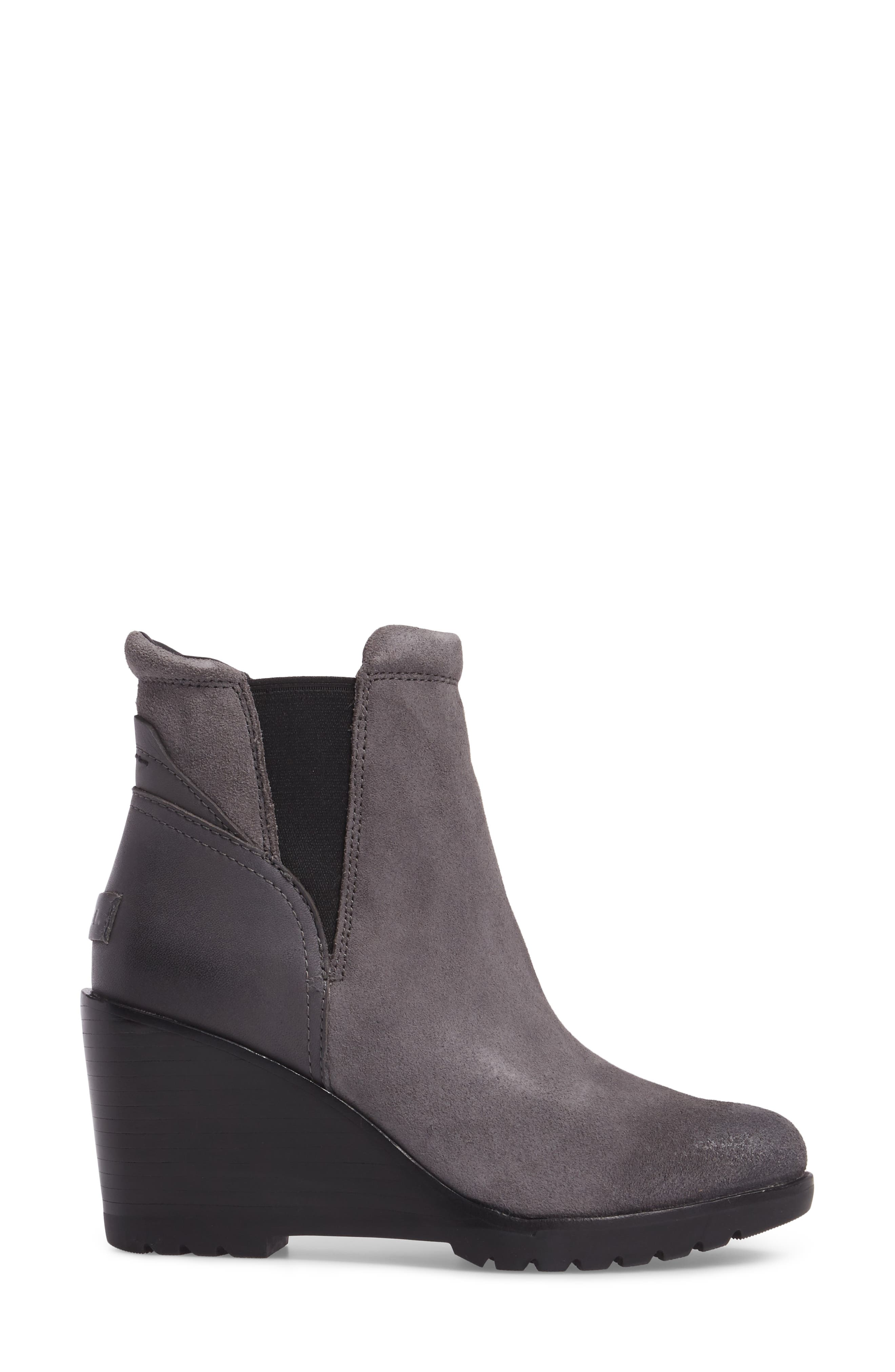 After Hours Chelsea Boot,                             Alternate thumbnail 3, color,                             Quarry
