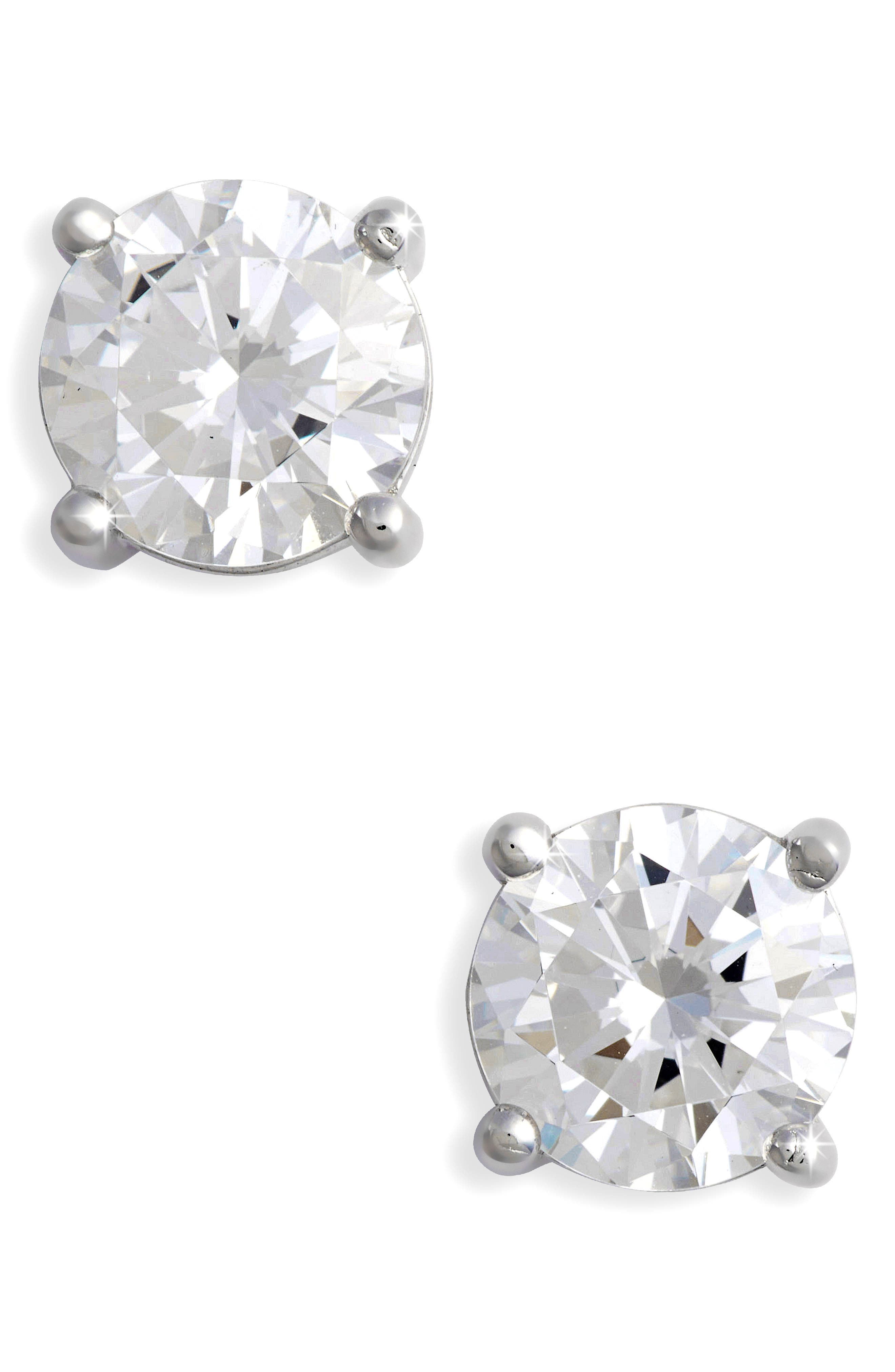 Main Image - Lafonn Simulated Diamond Stud Earrings