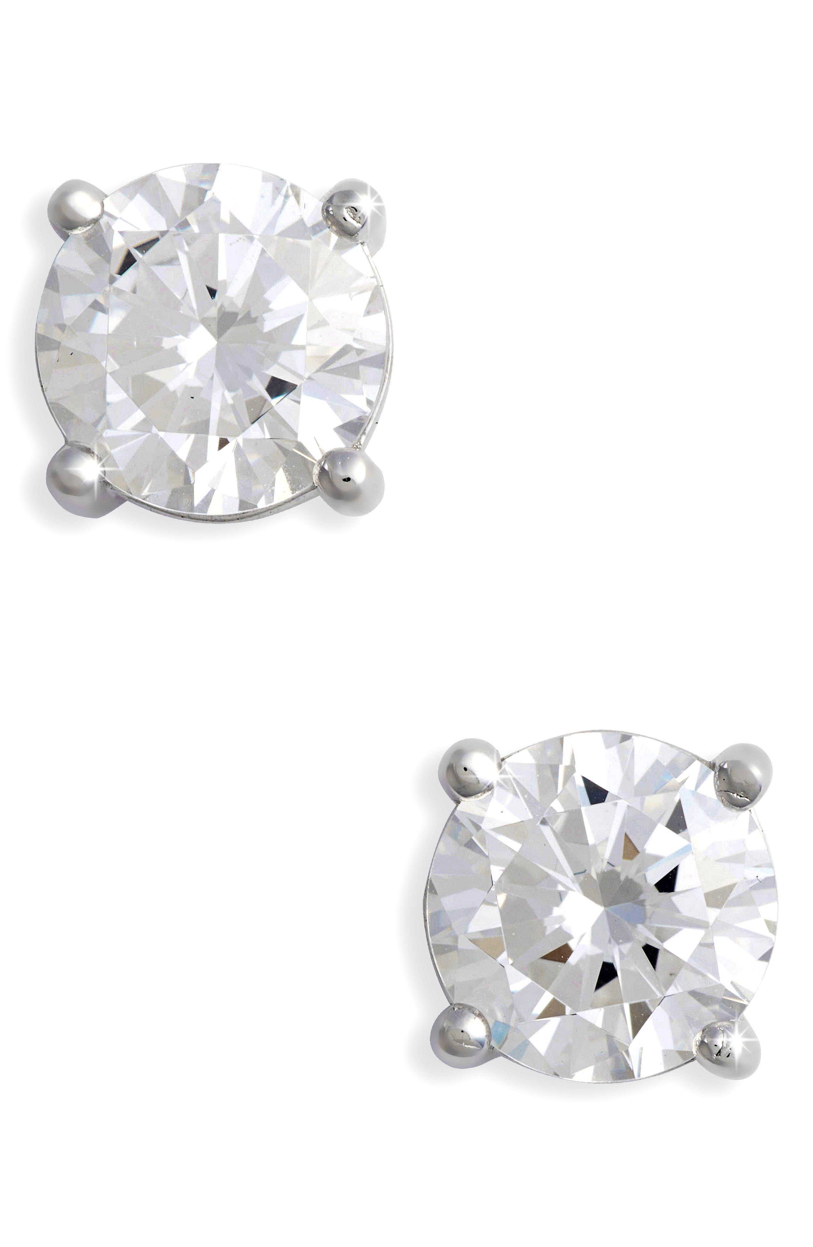 Lafonn Simulated Diamond Stud Earrings