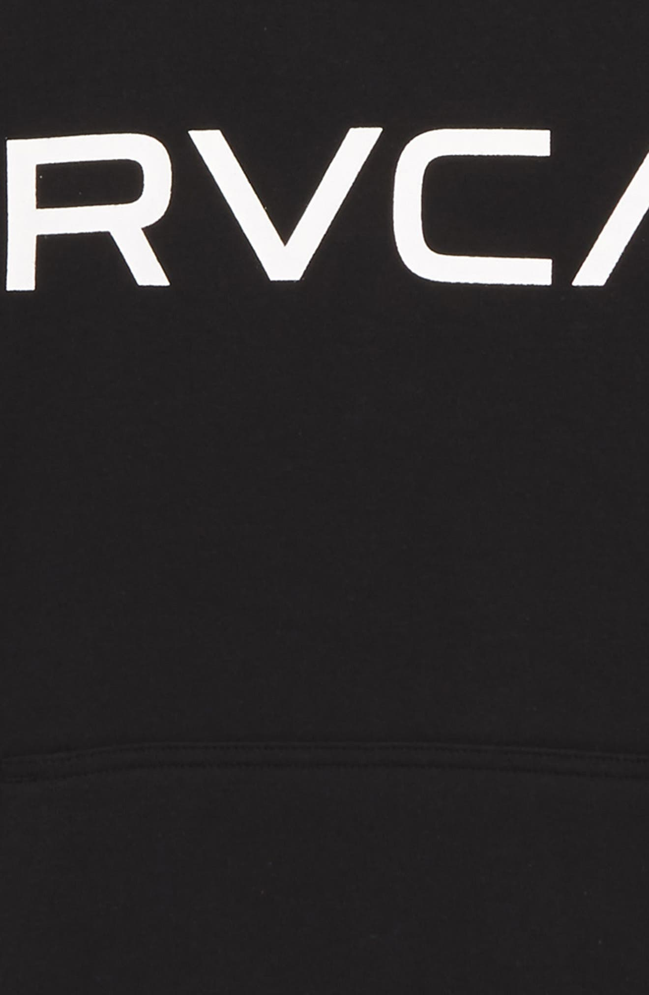 Alternate Image 2  - RVCA Big Logo Hoodie (Big Boys)