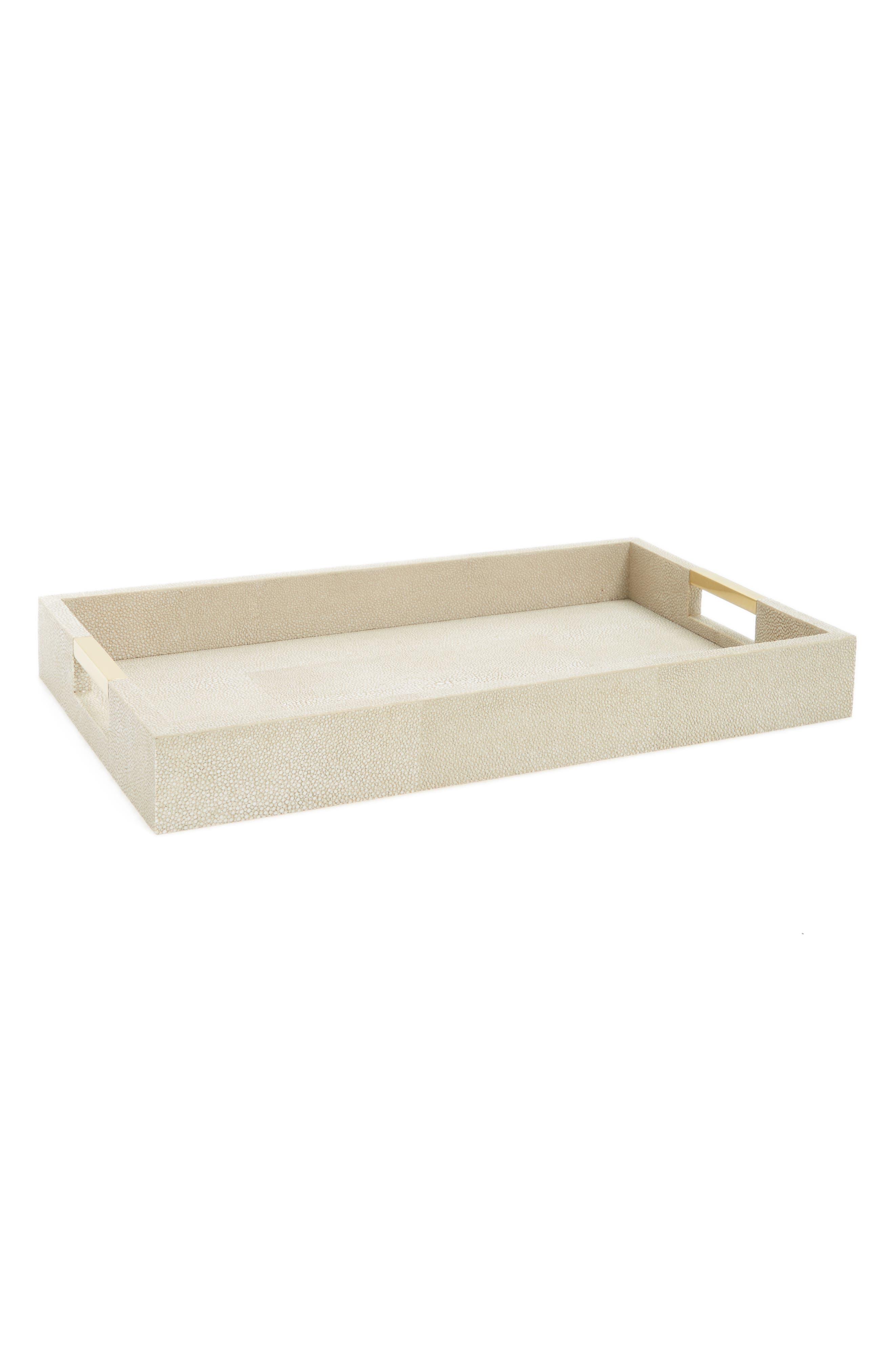 AERIN Shagreen Desk Tray
