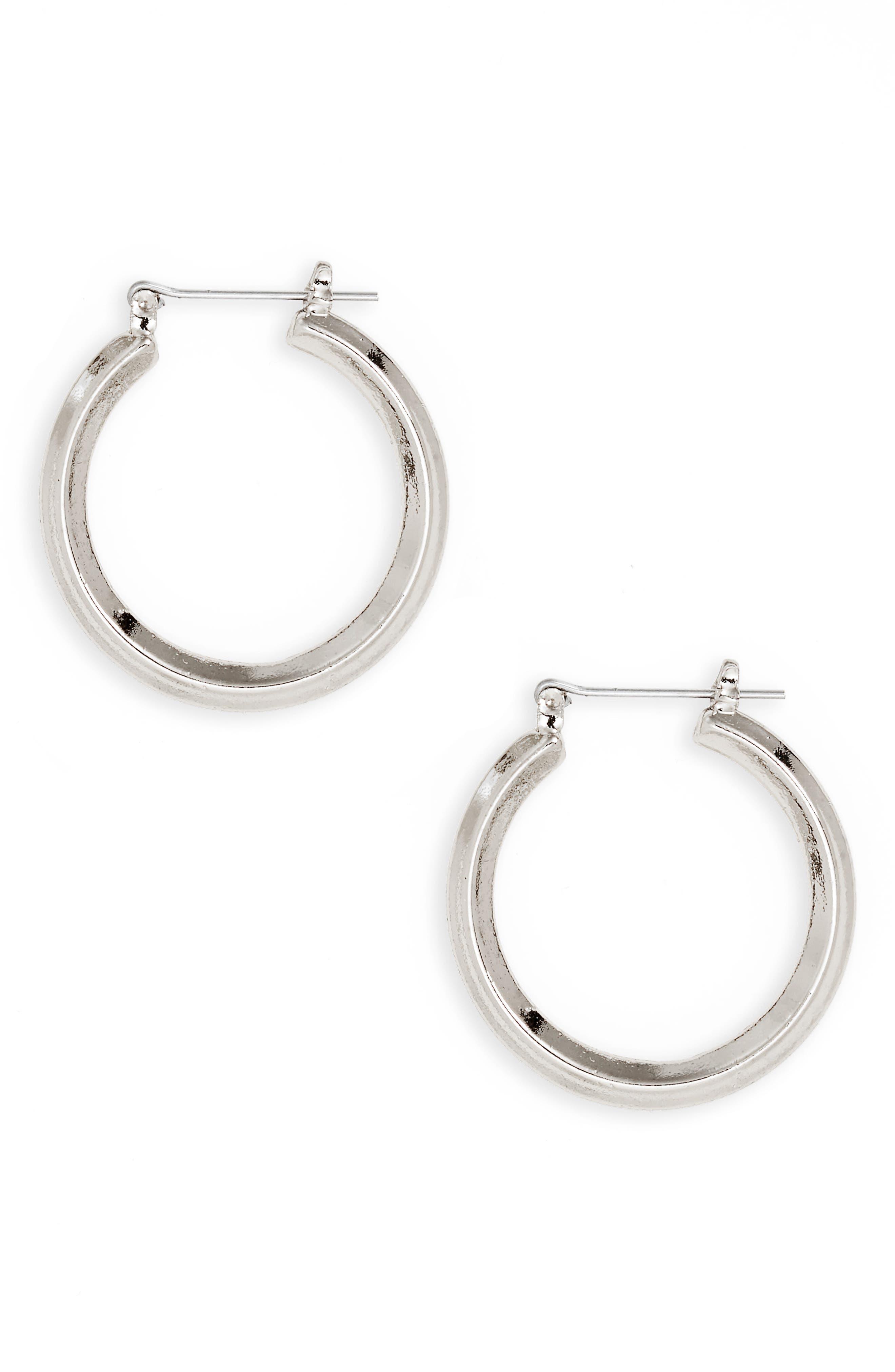 BP. Medium Hoop Earrings