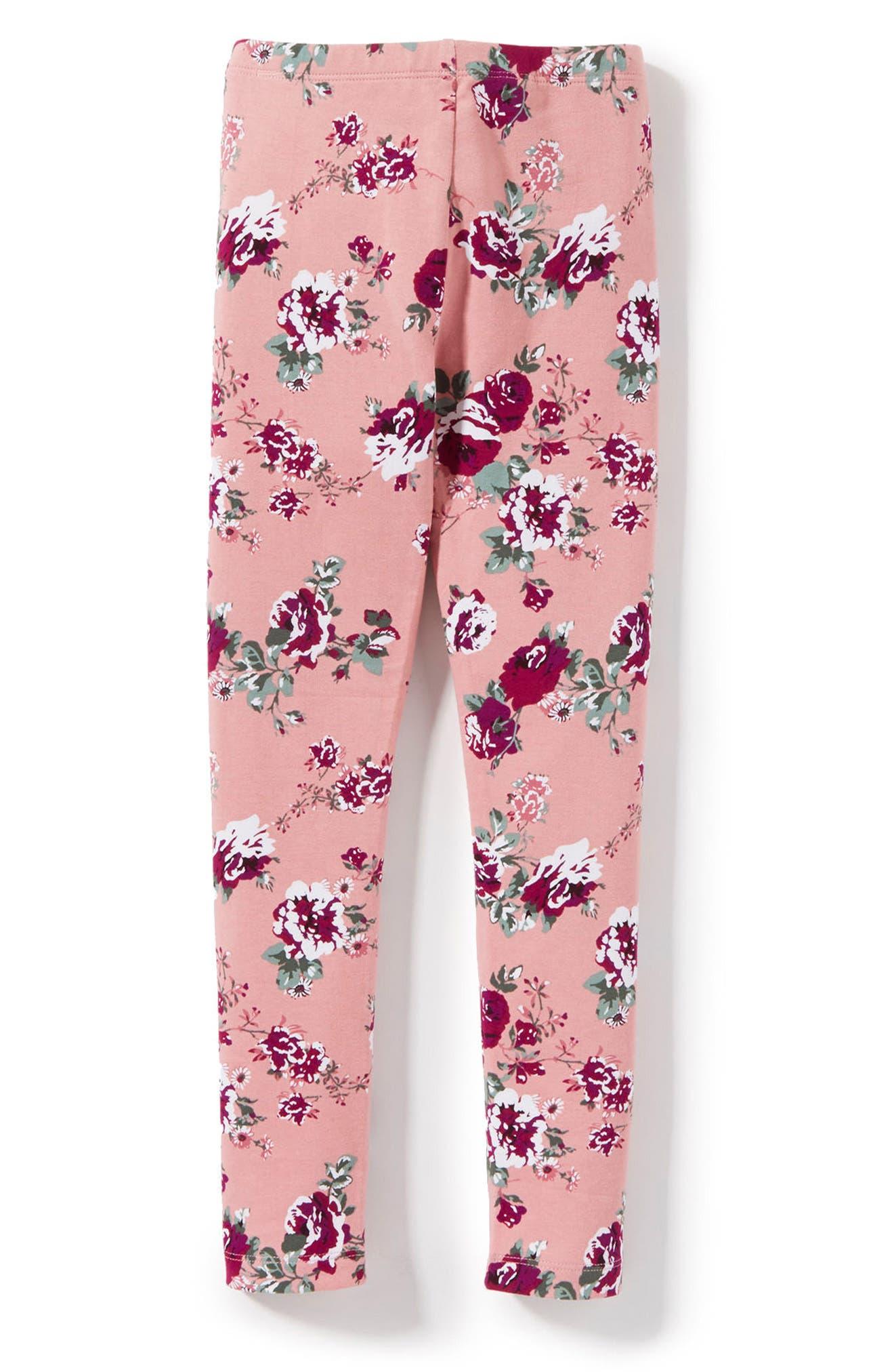 Peek Lara Floral Print Leggings (Toddler Girls, Little Girls & Big Girls)