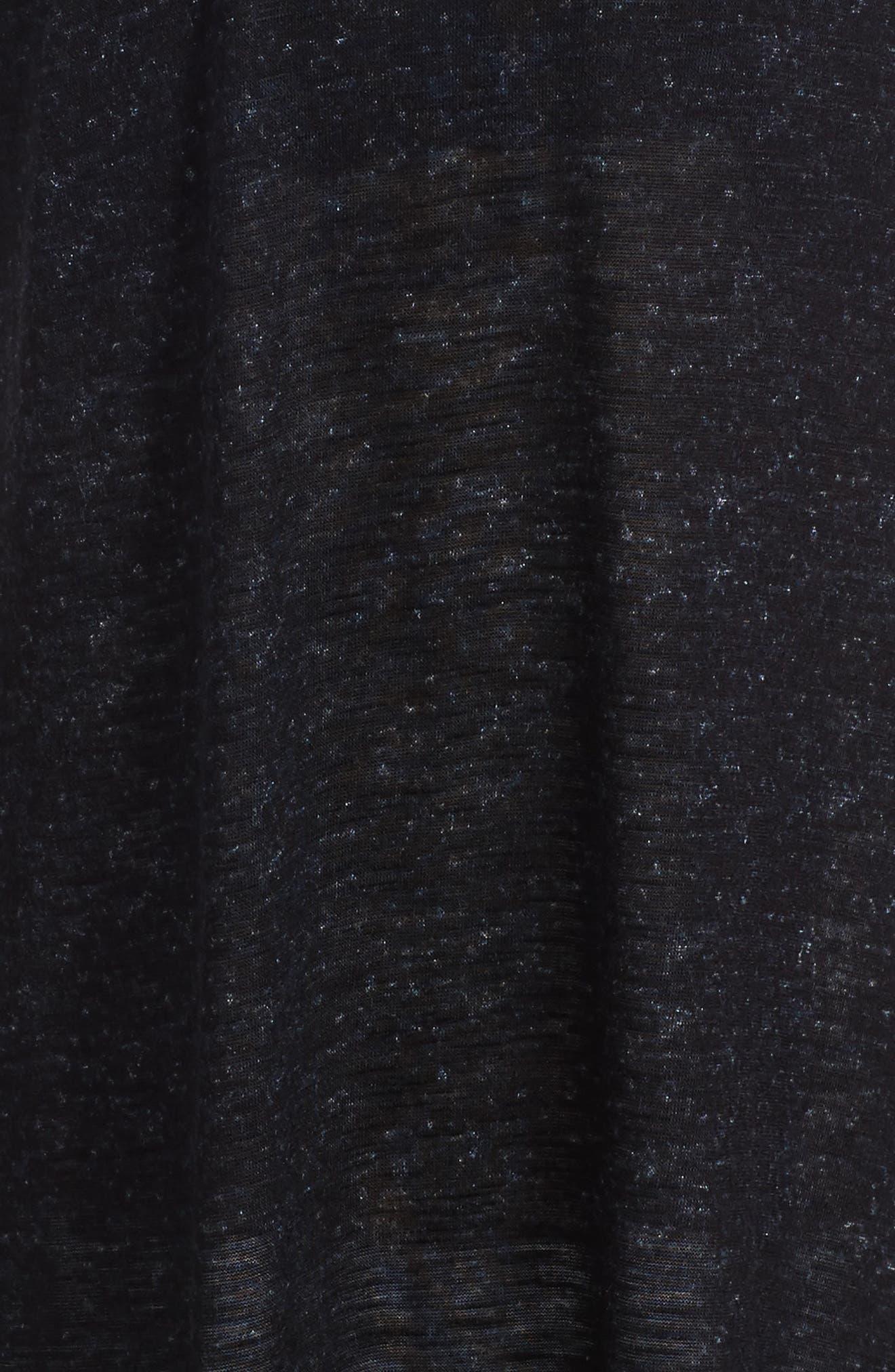 Dress,                             Alternate thumbnail 3, color,                             Black