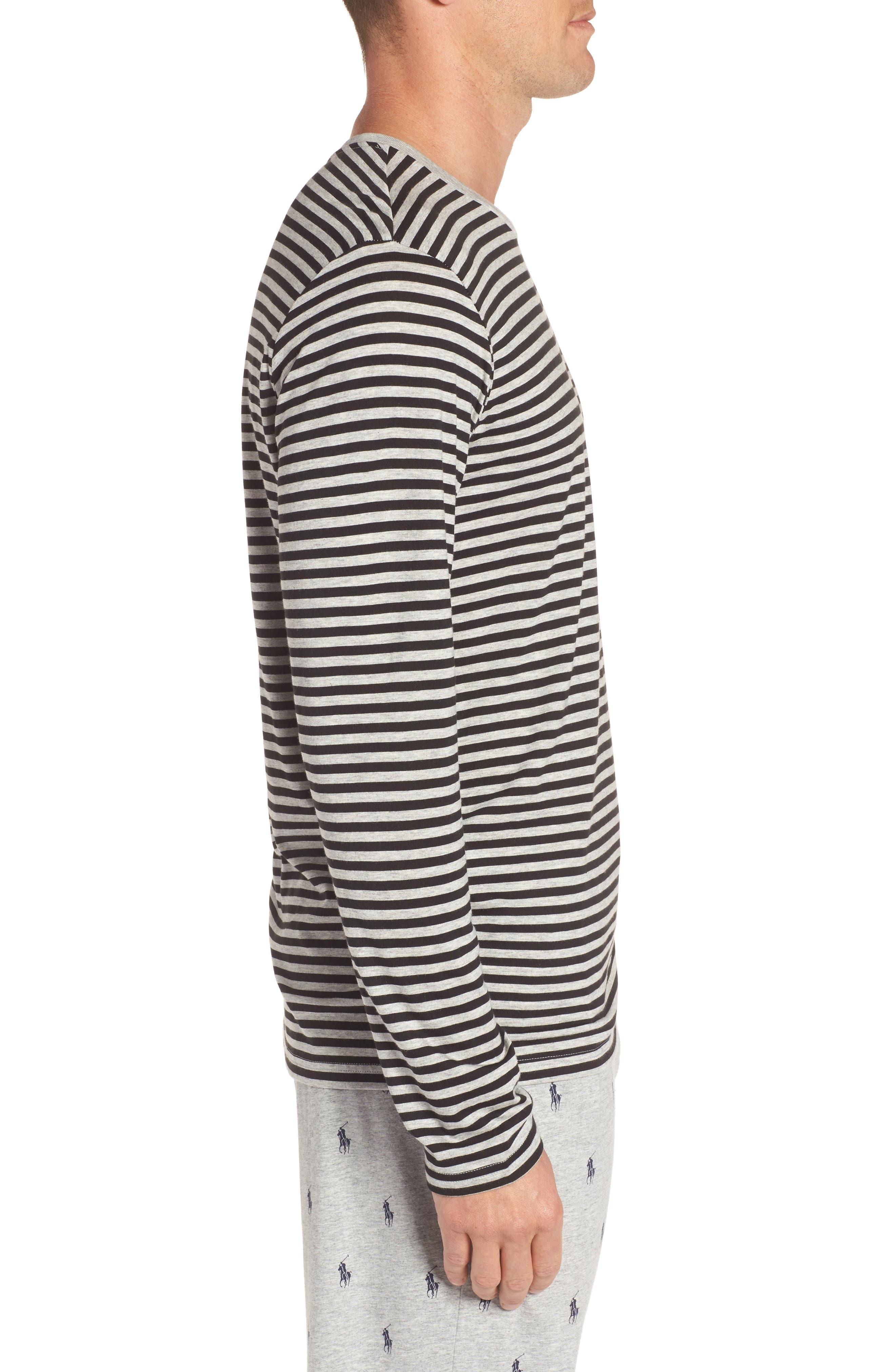 Alternate Image 3  - Polo Ralph Lauren Supreme Comfort Cotton & Modal T-Shirt