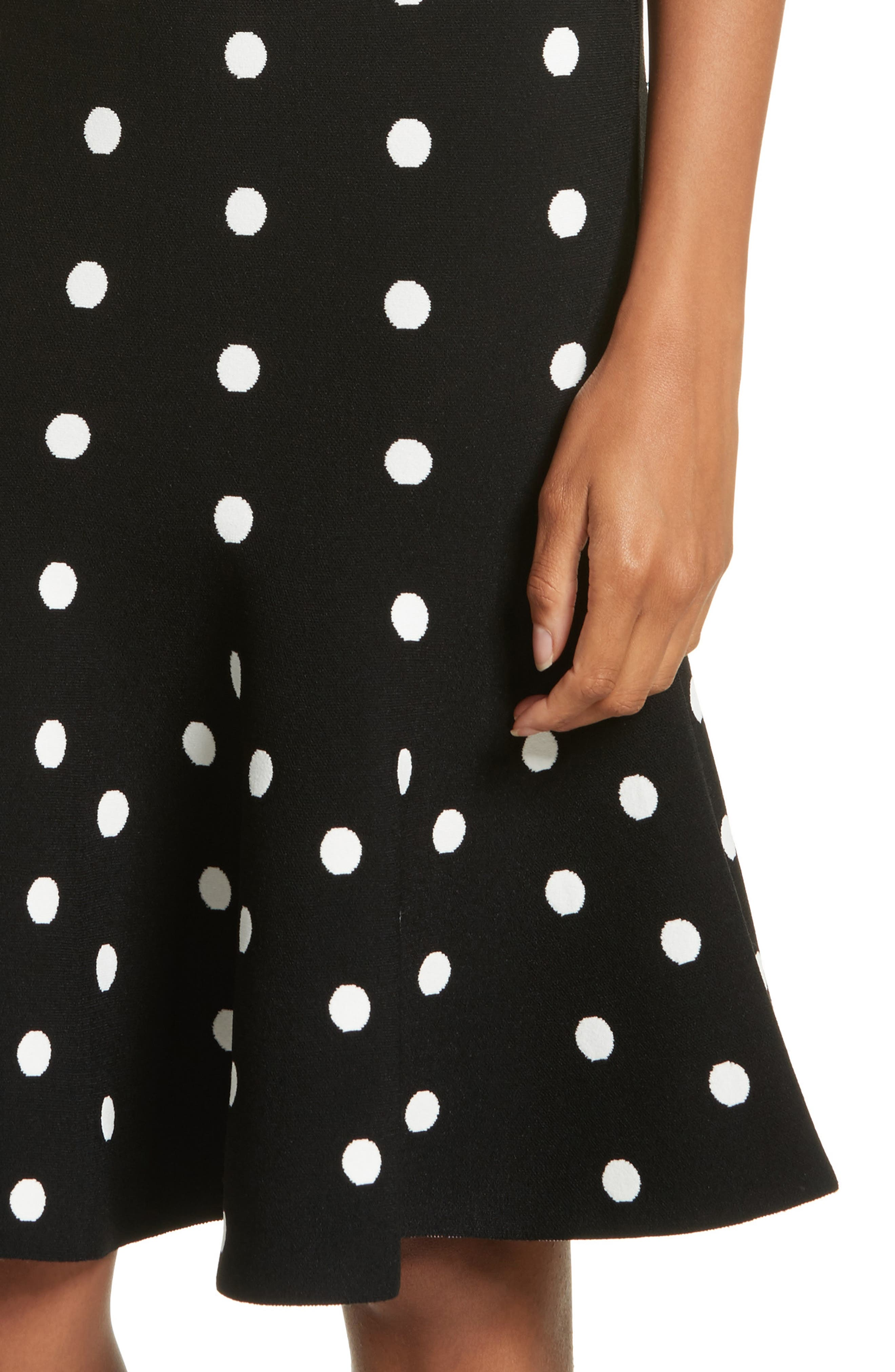 Alternate Image 4  - Milly Polka Dot Mermaid Dress