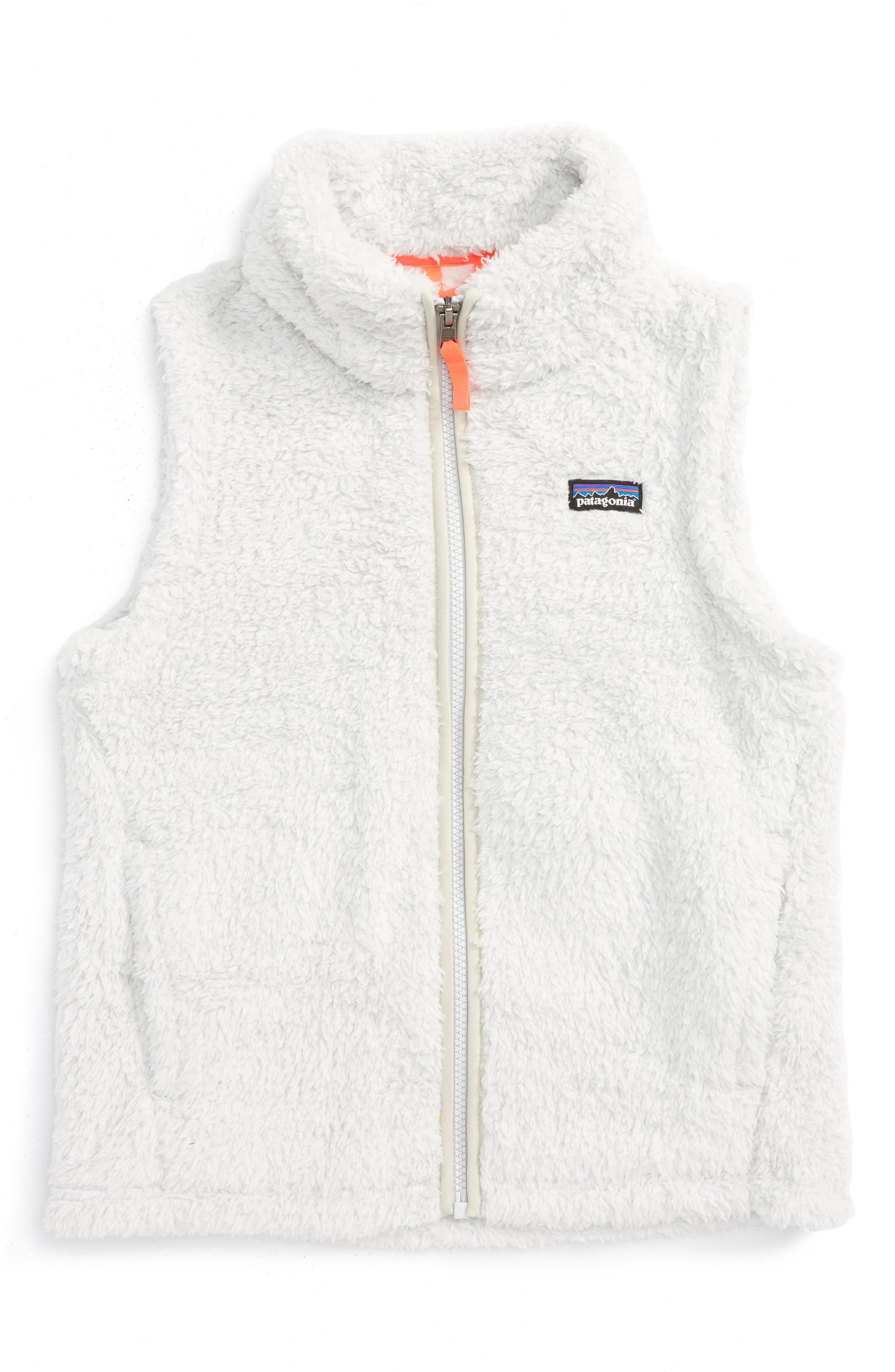 Patagonia Los Gatos Fuzzy Fleece Vest (Little Girls & Big Girls)