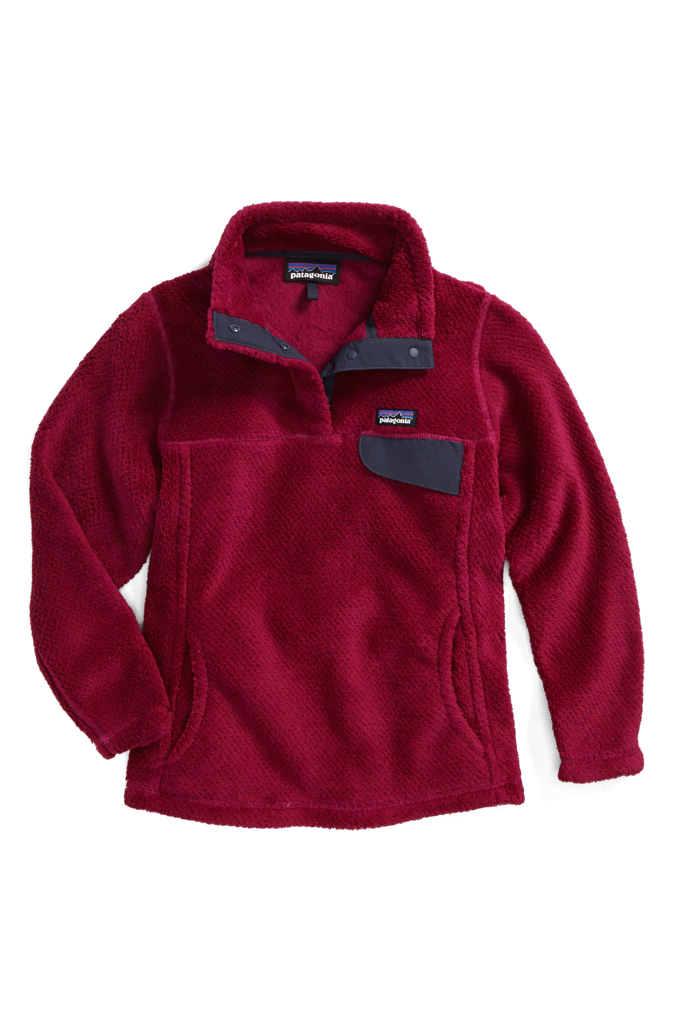 Re-Tool Snap-T<sup>®</sup> Pullover,                         Main,                         color, Magenta - Magenta X-Dye