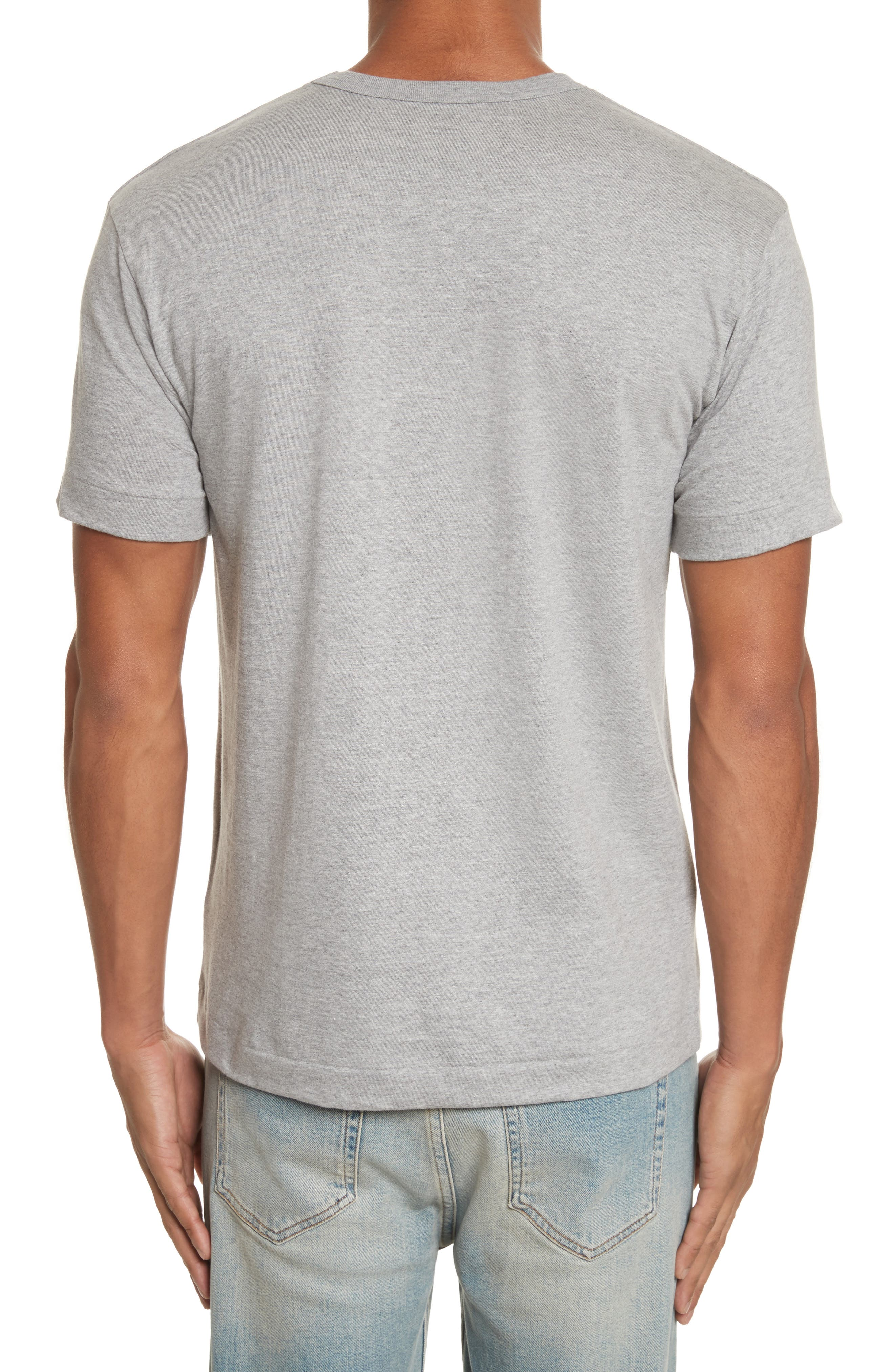 PLAY Upside Down Graphic T-Shirt,                             Alternate thumbnail 2, color,                             Grey