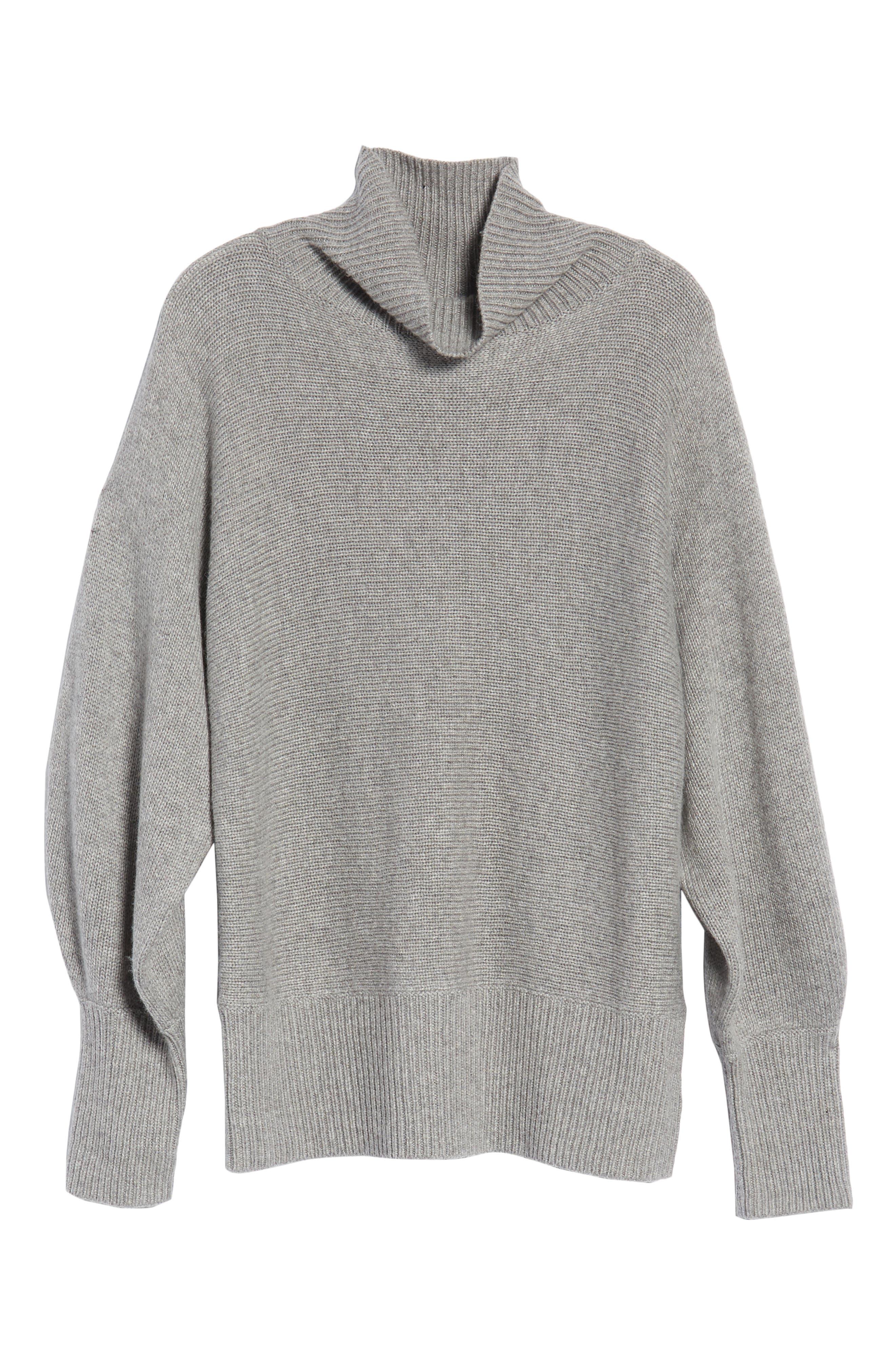 Alternate Image 6  - Halogen® Blouson Sleeve Sweater (Regular & Petite)