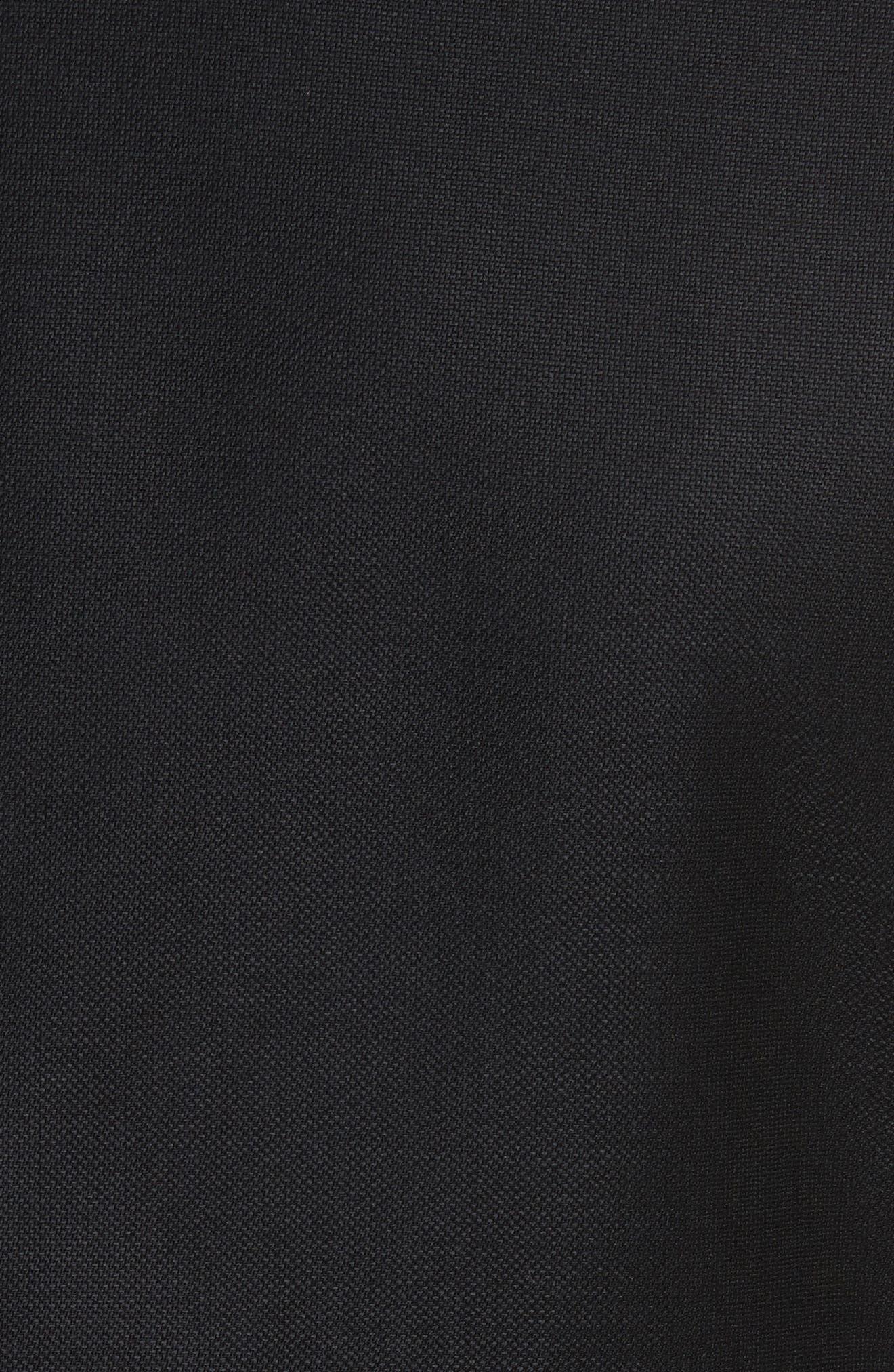Alternate Image 5  - Armani Collezioni G-Line Trim Fit Wool Blazer