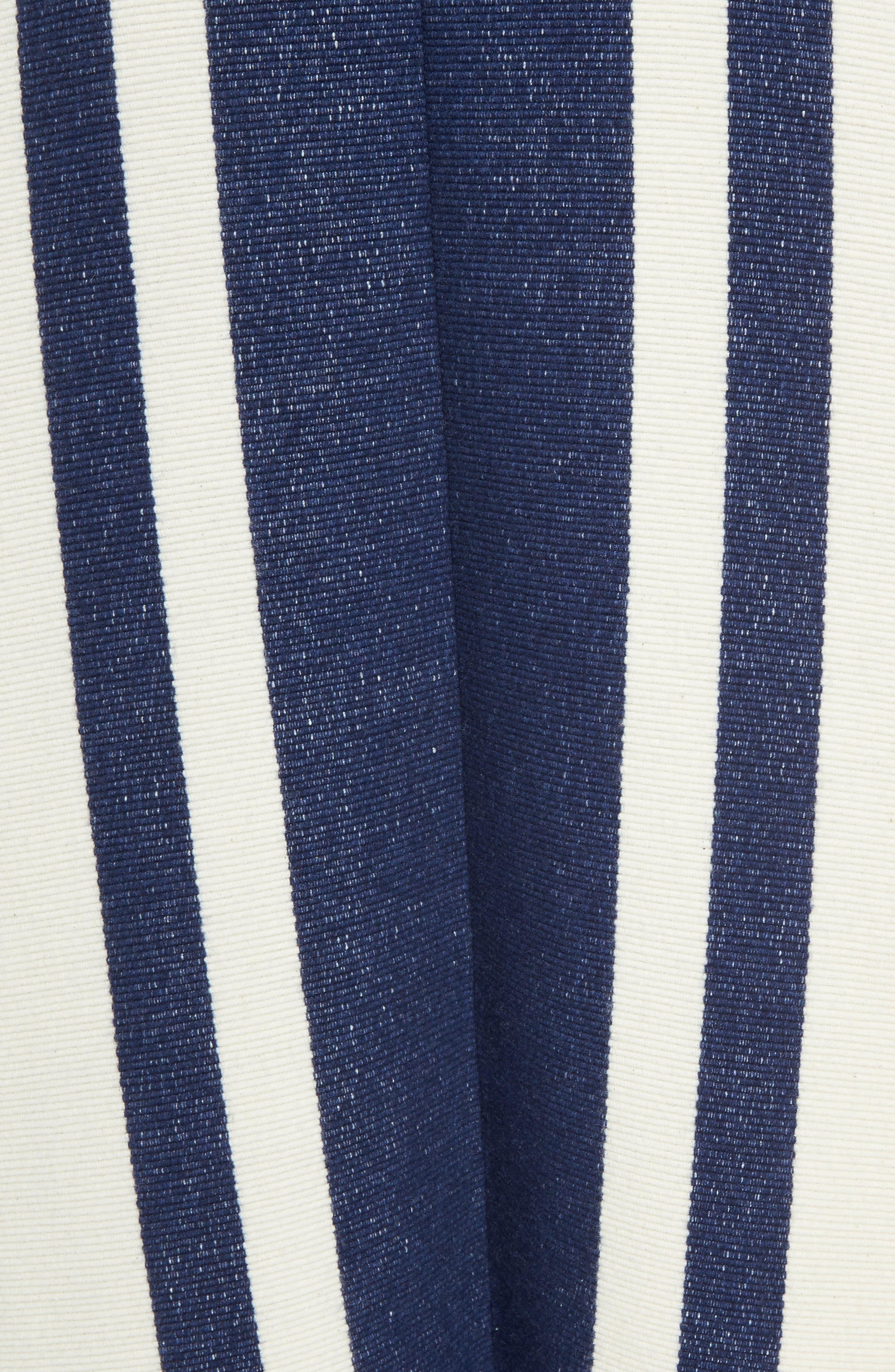 Alternate Image 5  - Chloé Stripe Blanket Coat
