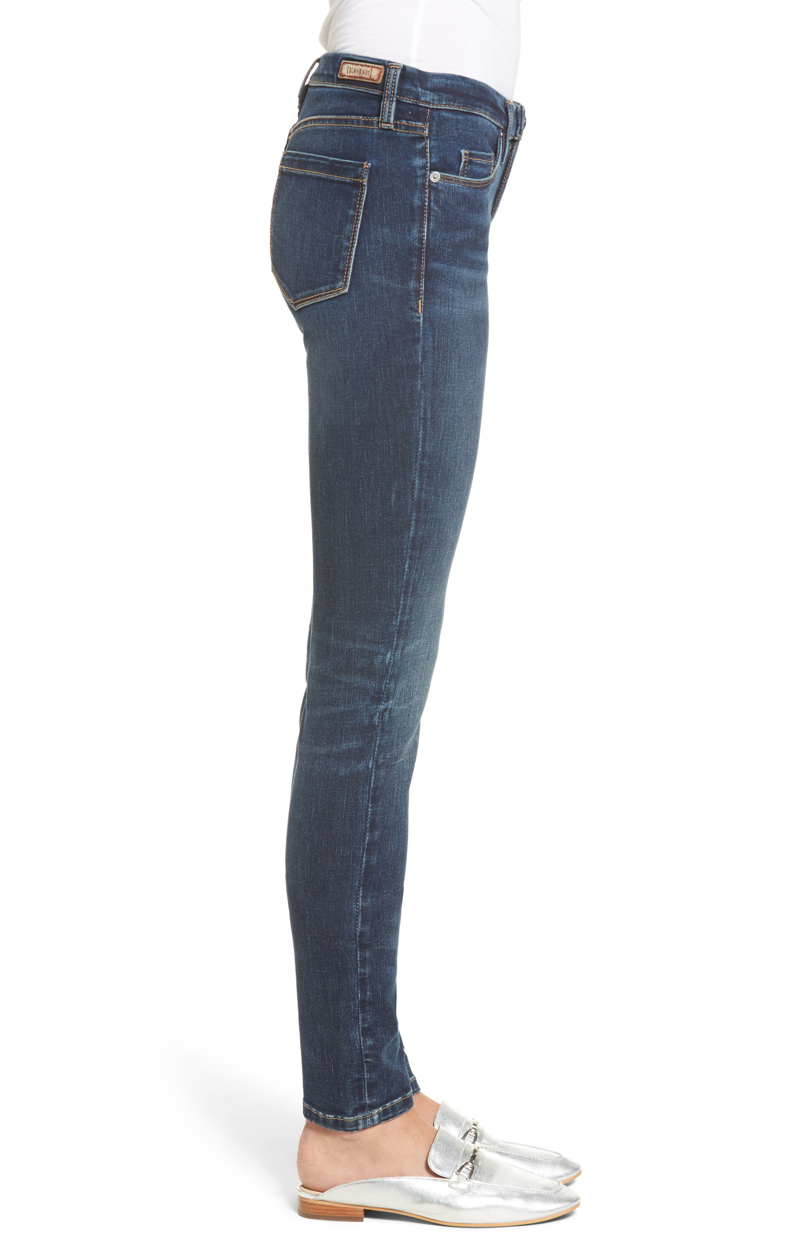 Alternate Image 3  - BLANKNYC Sleep Song Skinny Jeans