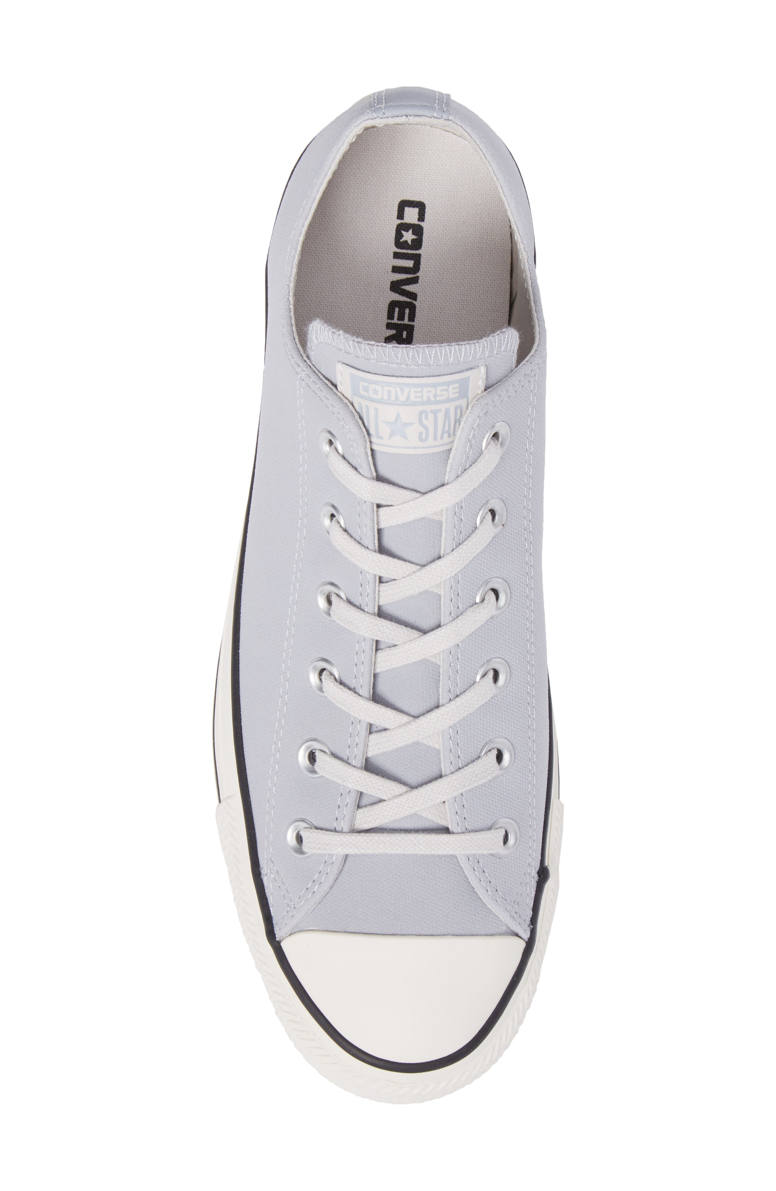 Chuck Taylor<sup>®</sup> All Star<sup>®</sup> Lo Sneaker,                             Alternate thumbnail 5, color,                             Wolf Grey