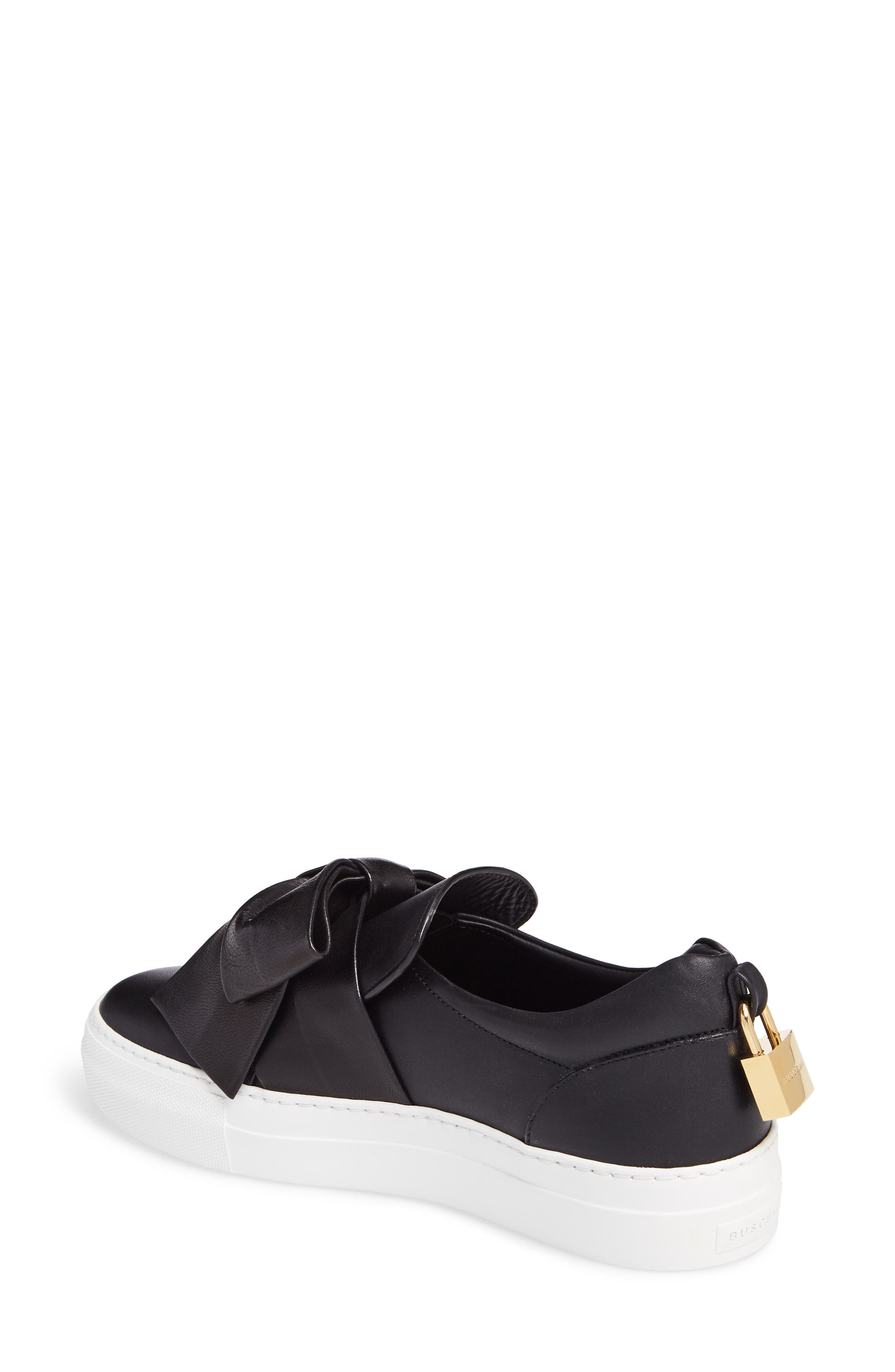 Alternate Image 2  - Buscemi Bow Slip-On Sneaker (Women)