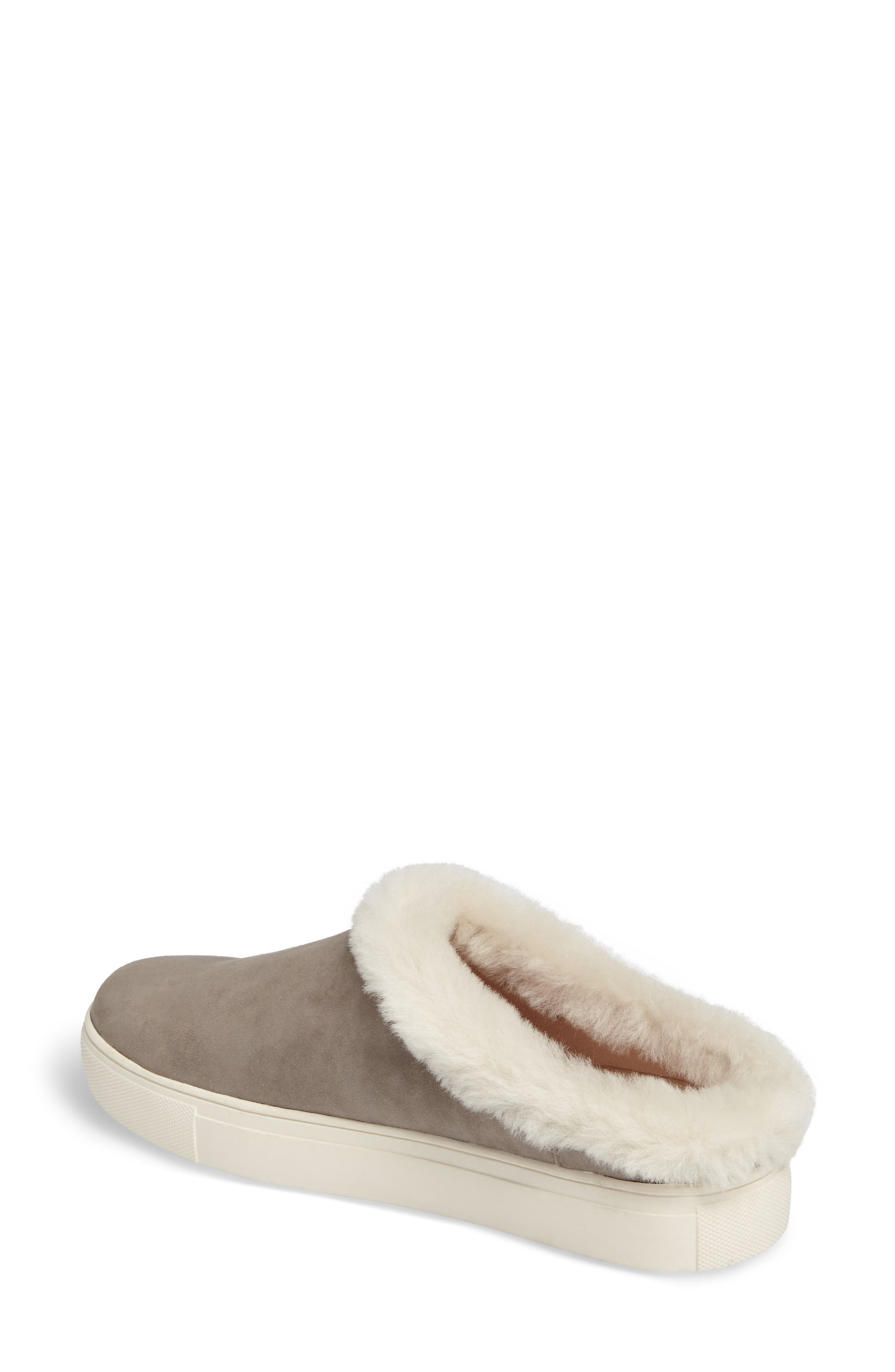 Alternate Image 2  - Sudini Leia Genuine Shearling Lined Slip-On (Women)