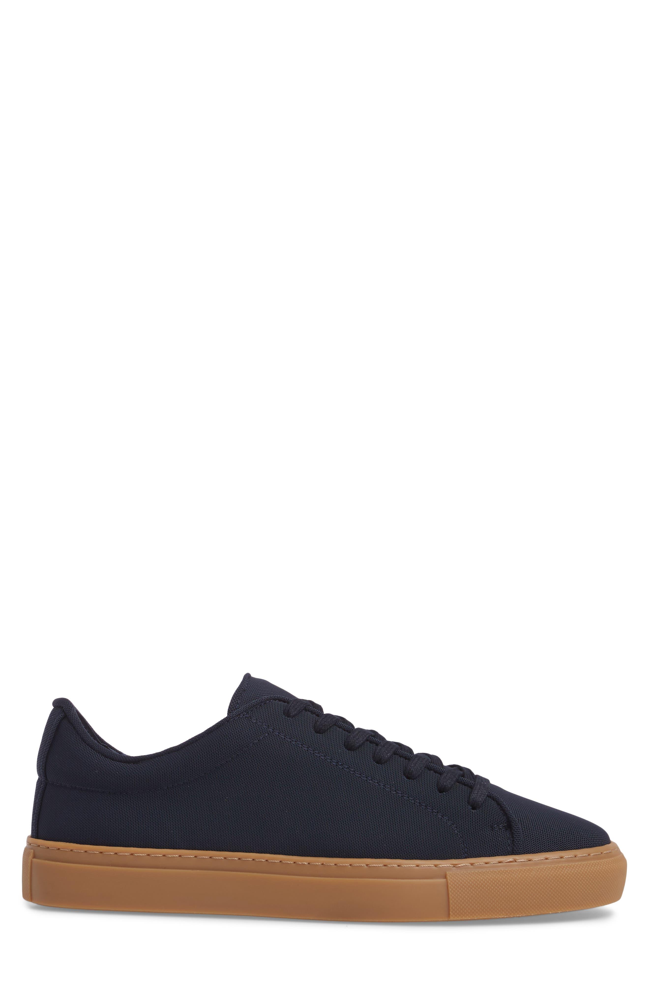 Dylan Sneaker,                             Alternate thumbnail 3, color,                             Navy
