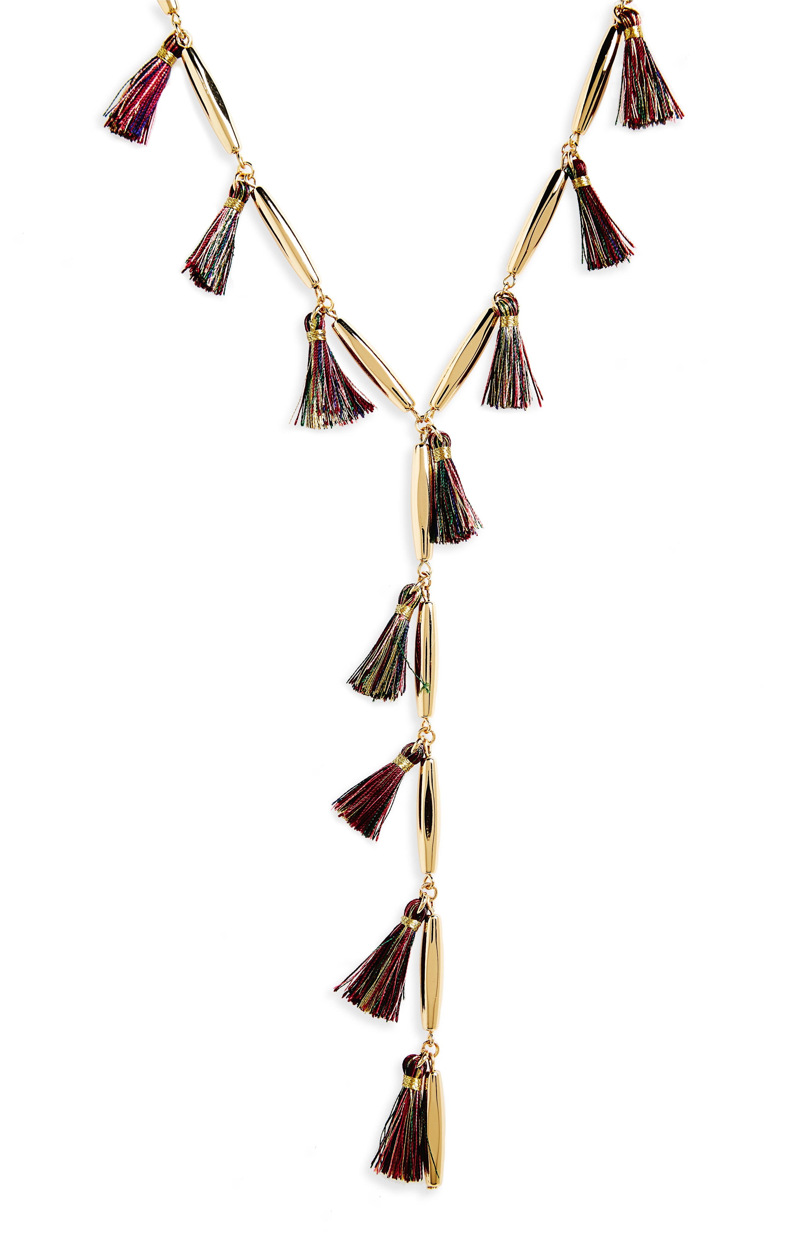 Alternate Image 2  - Rebecca Minkoff Tassel Y-Necklace