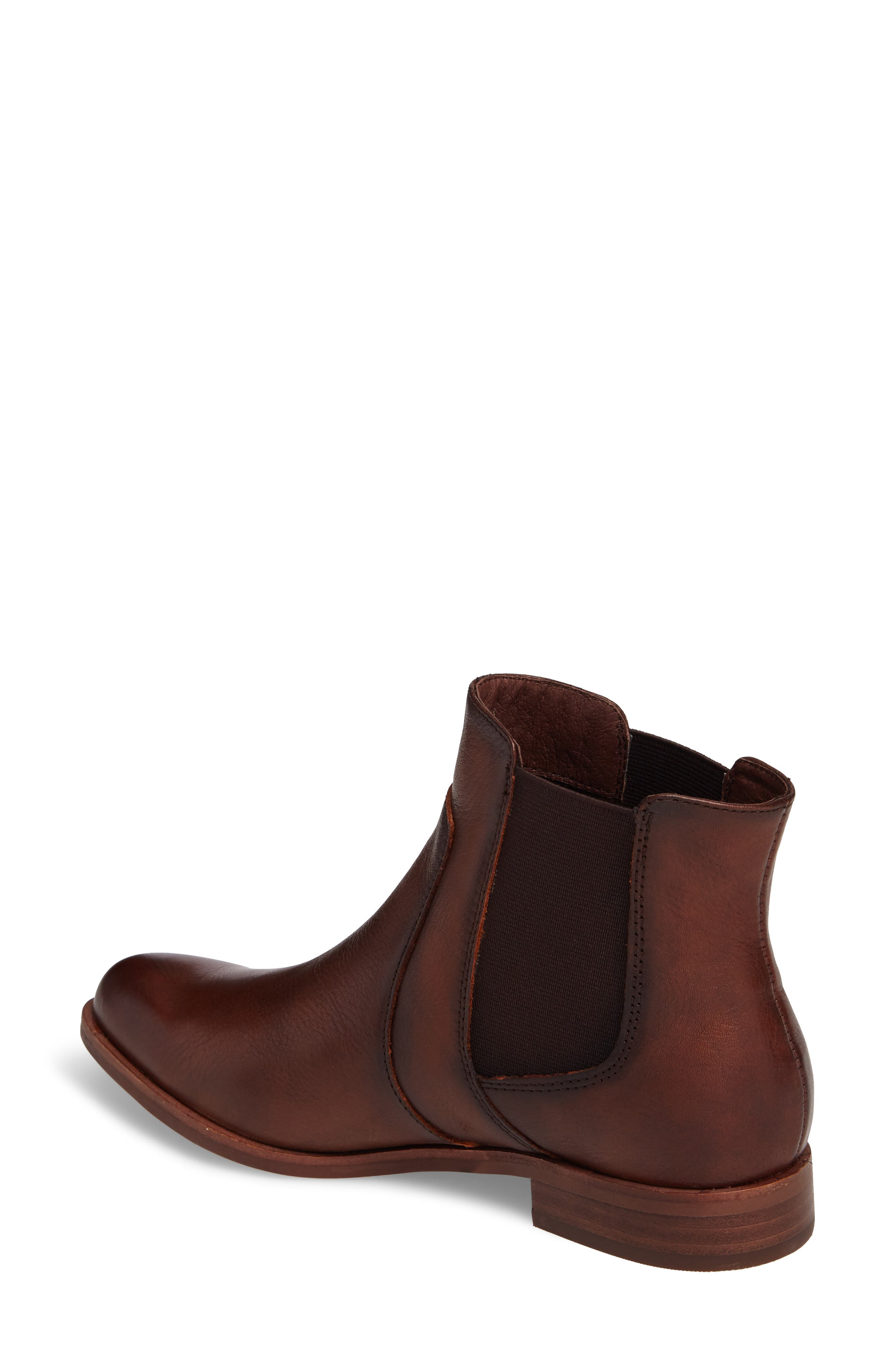 Mora Bootie,                             Alternate thumbnail 2, color,                             Whiskey Leather